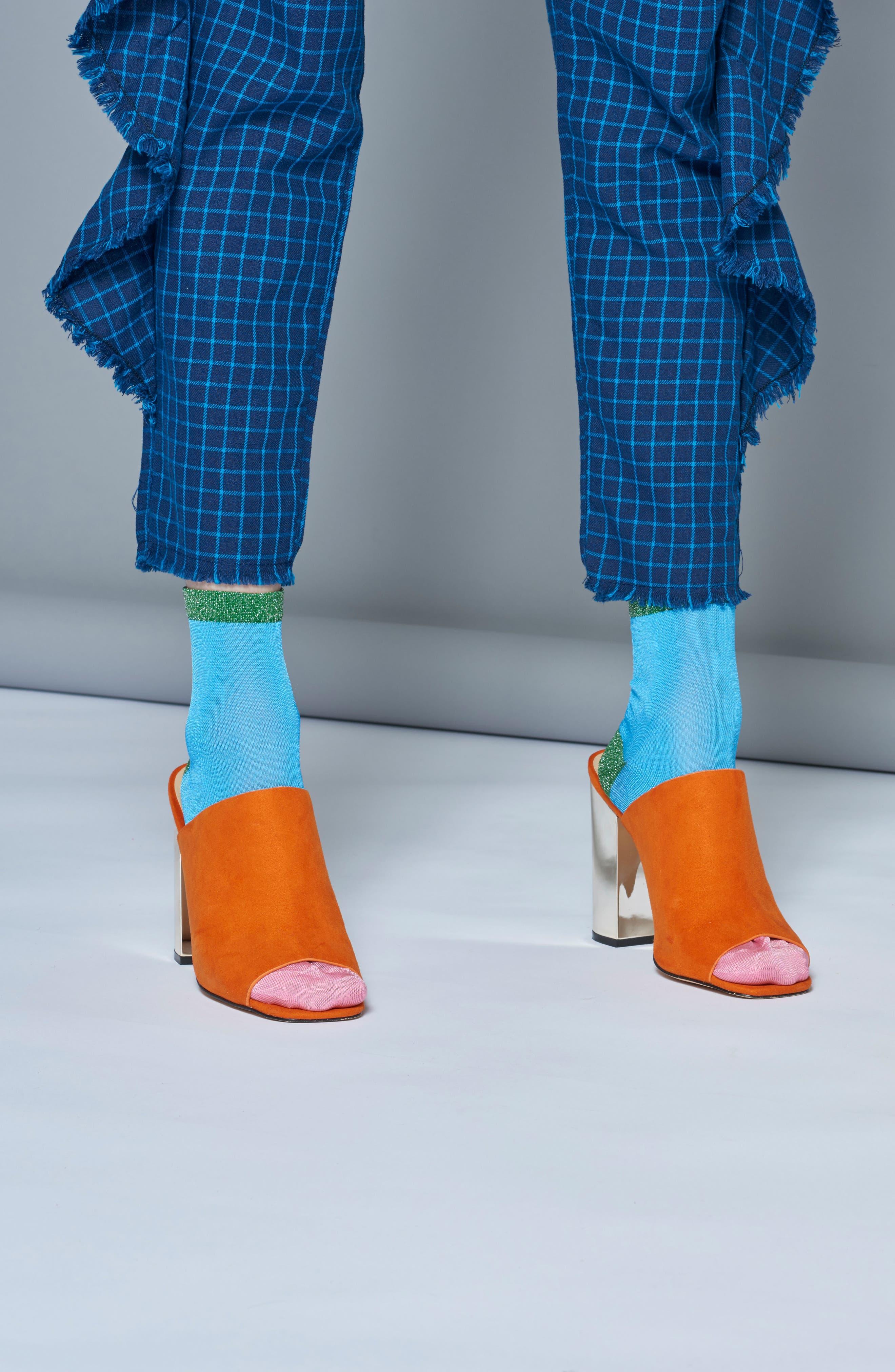 Alternate Image 4  - Hysteria by Happy Socks Liza Sparkle Ankle Socks