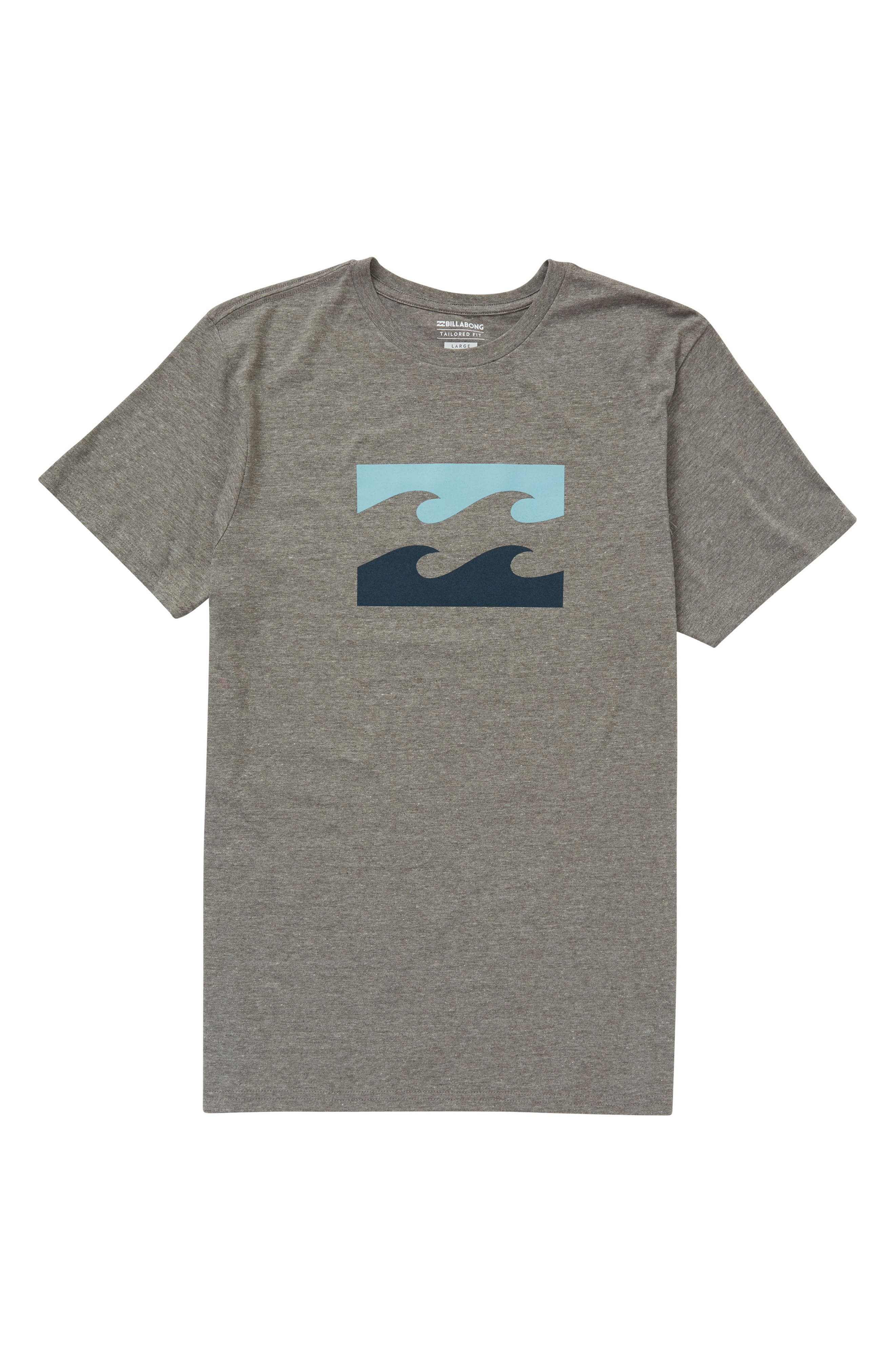 Wave T-Shirt,                         Main,                         color, Dark Grey Heather