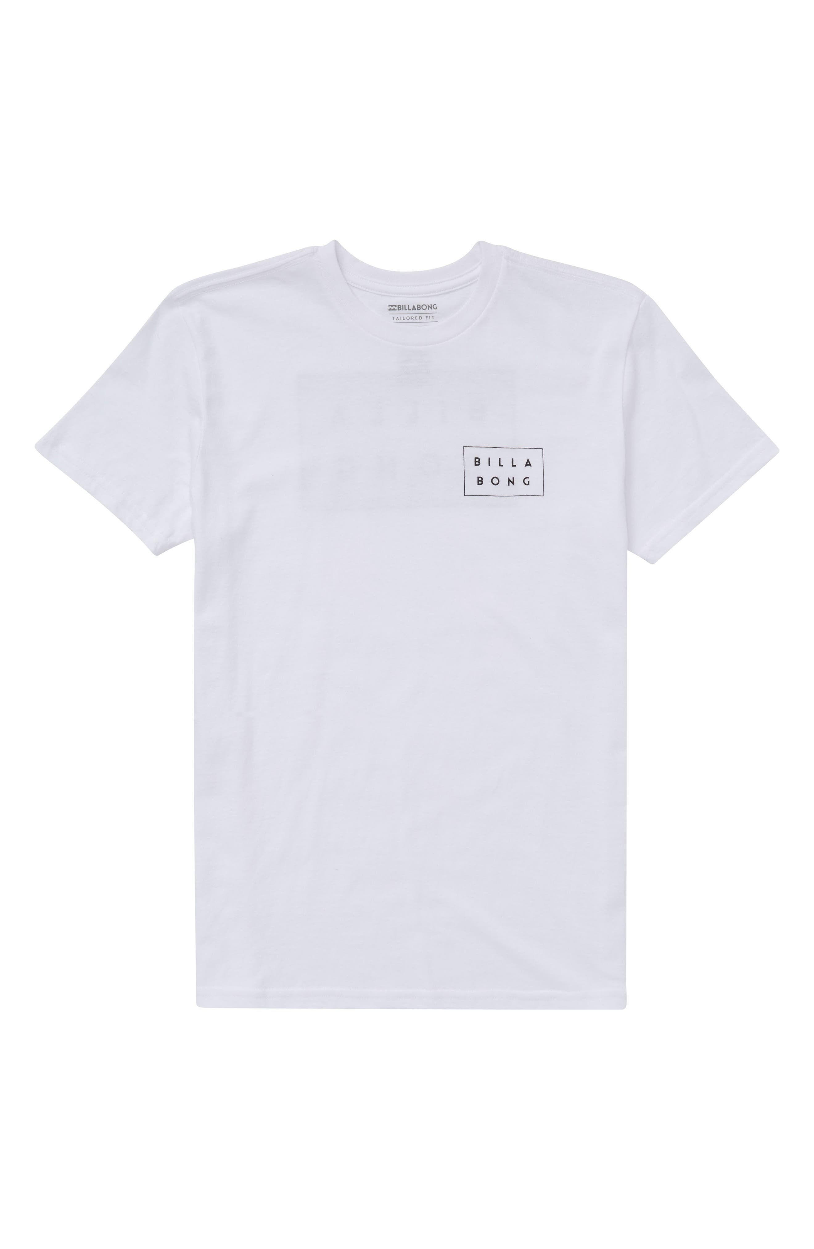 Logo Graphic T-Shirt,                         Main,                         color, White