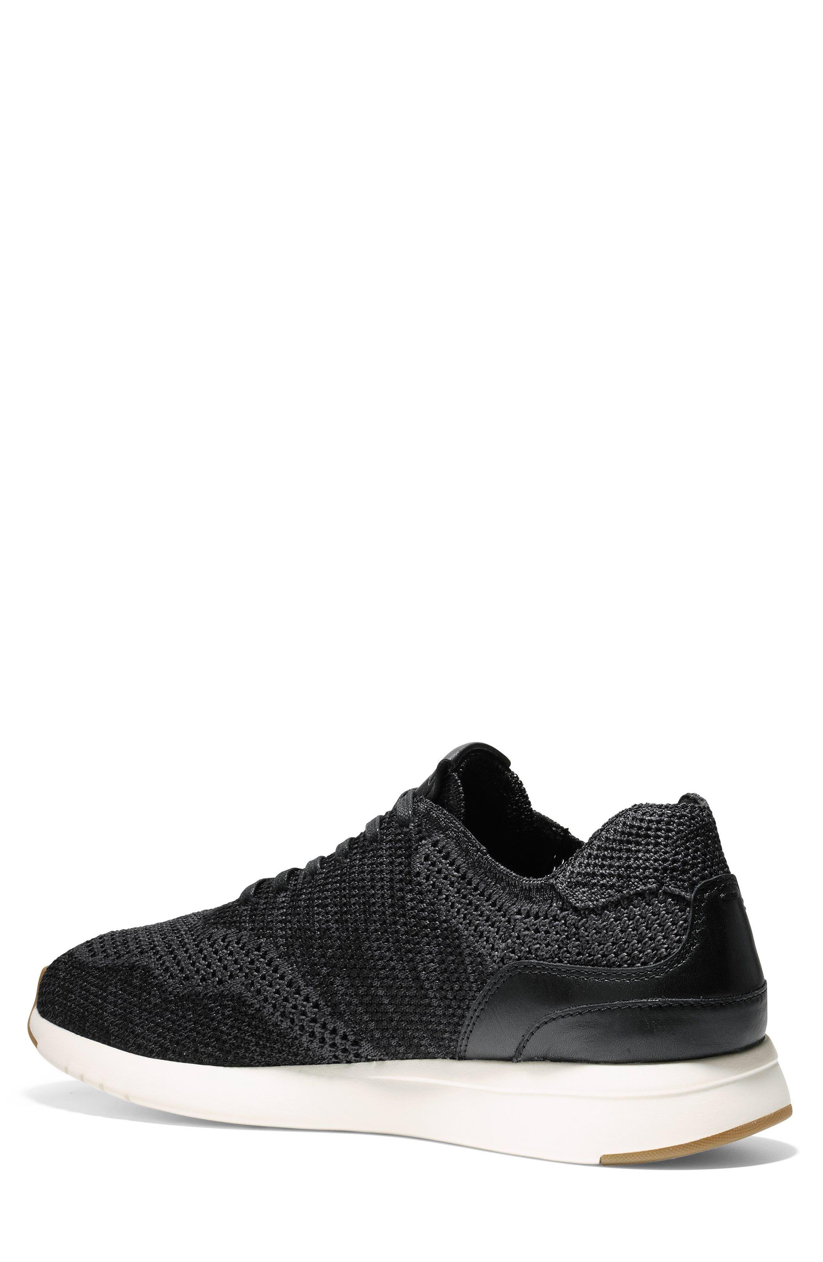 GrandPro Runner Stitchlite Sneaker,                             Alternate thumbnail 2, color,                             Black / Magnet