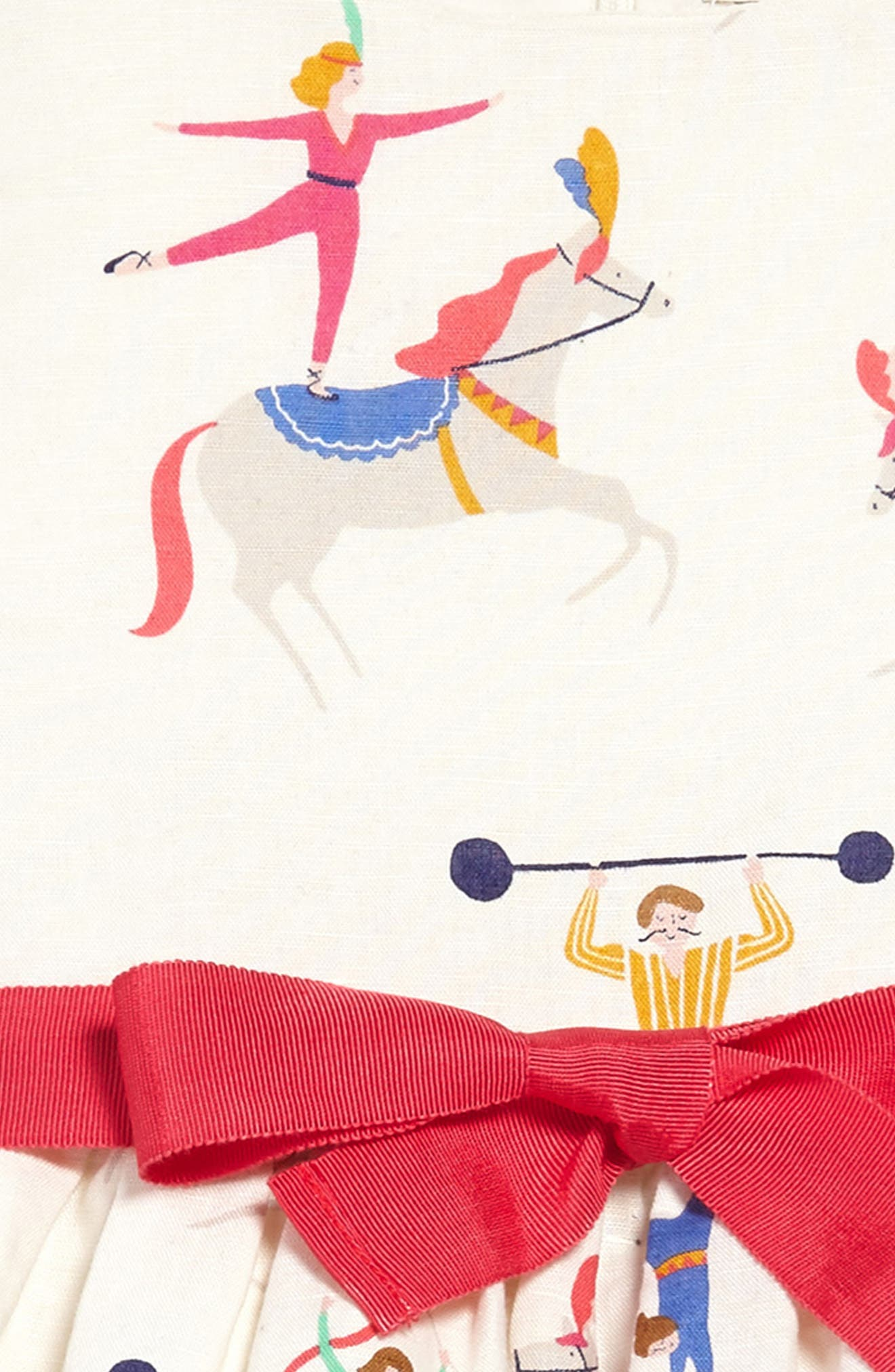 Vintage Dress,                             Alternate thumbnail 3, color,                             Ecru Acrobats