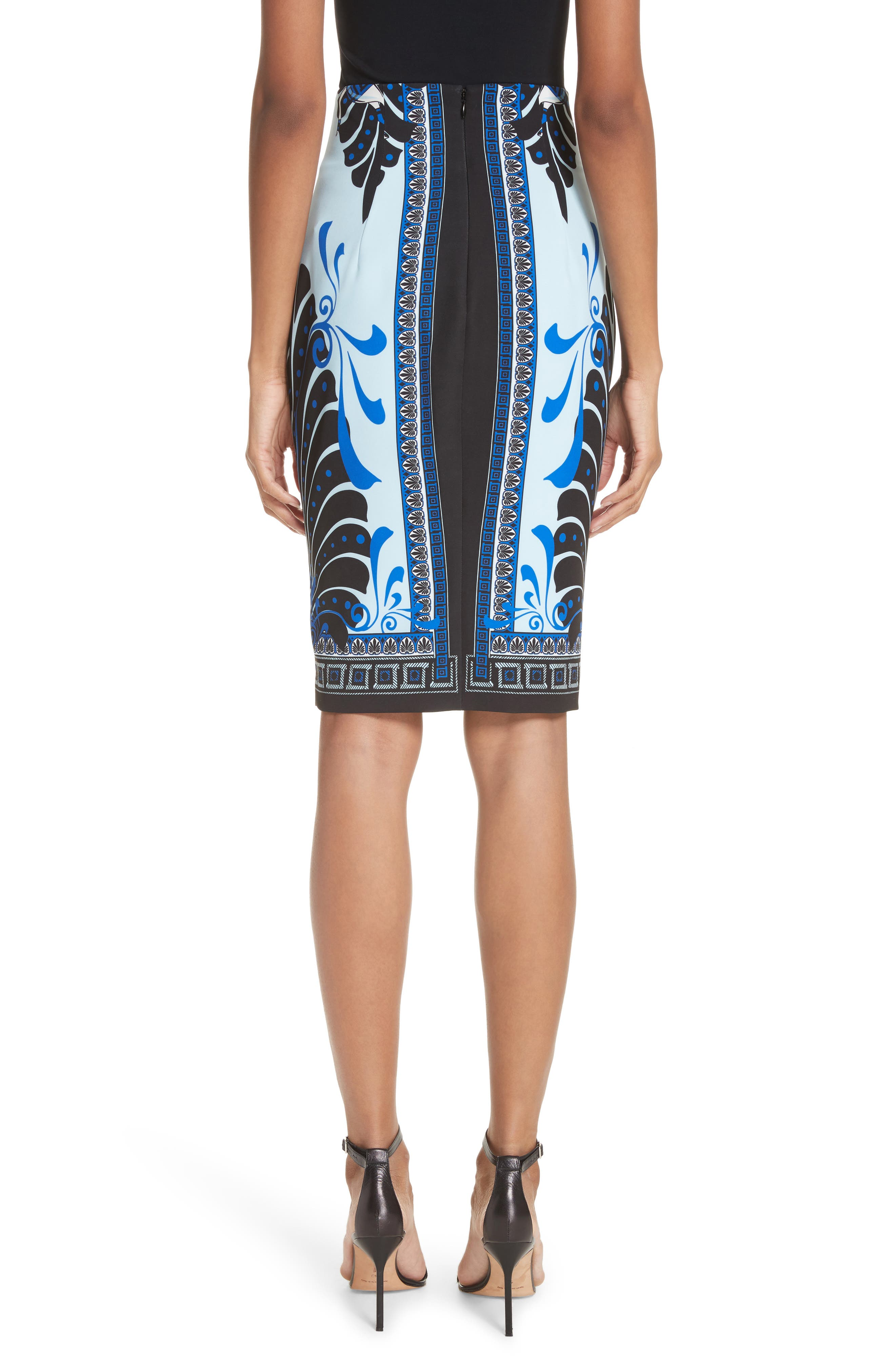 Alternate Image 2  - Versace Collection Eros Cady Pencil Skirt