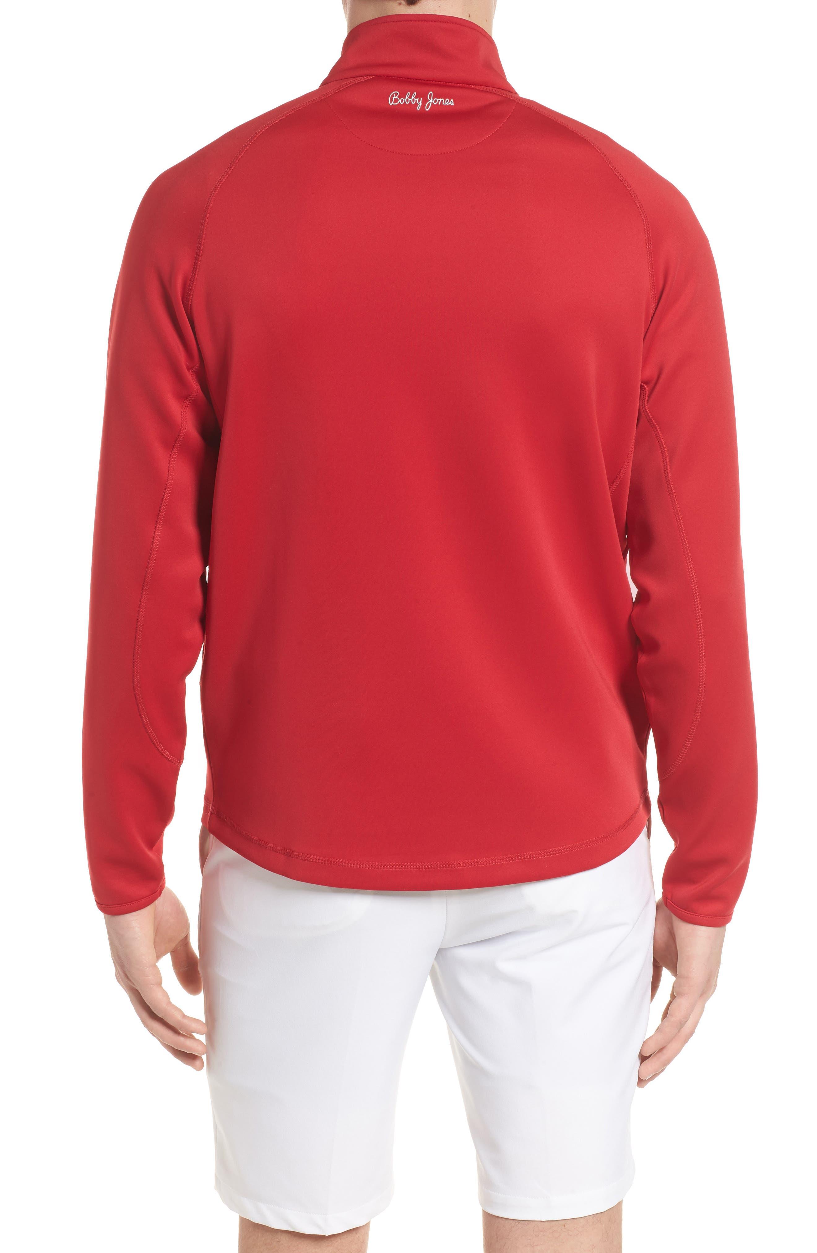 Alternate Image 2  - Bobby Jones XH2O Crawford Stretch Quarter Zip Golf Pullover