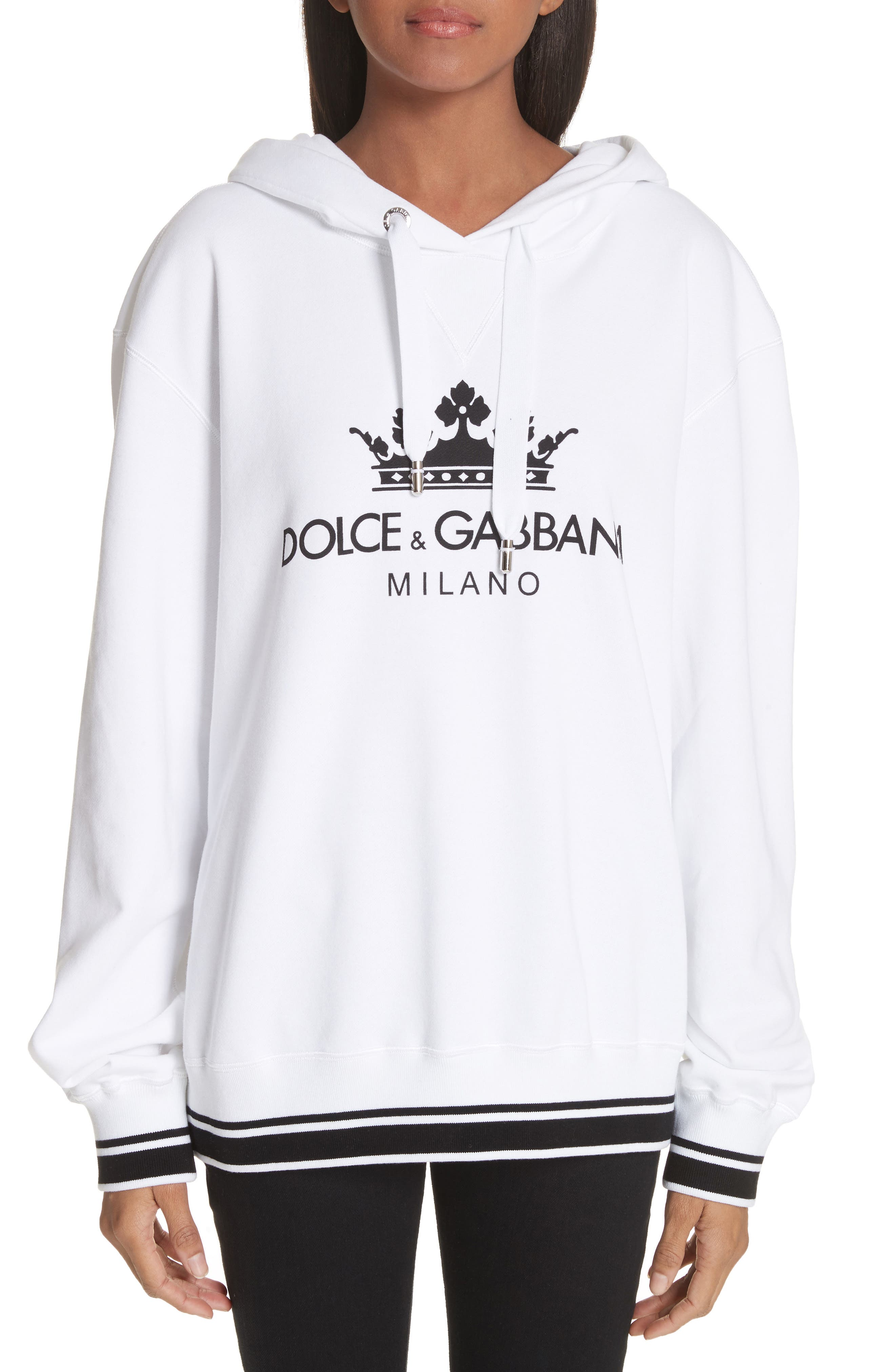 Dolce&Gabbana Logo Hooded Sweatshirt