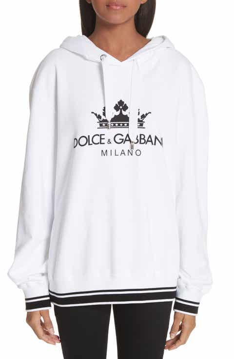 Dolce&Gabbana Logo Hooded Sweatshirt