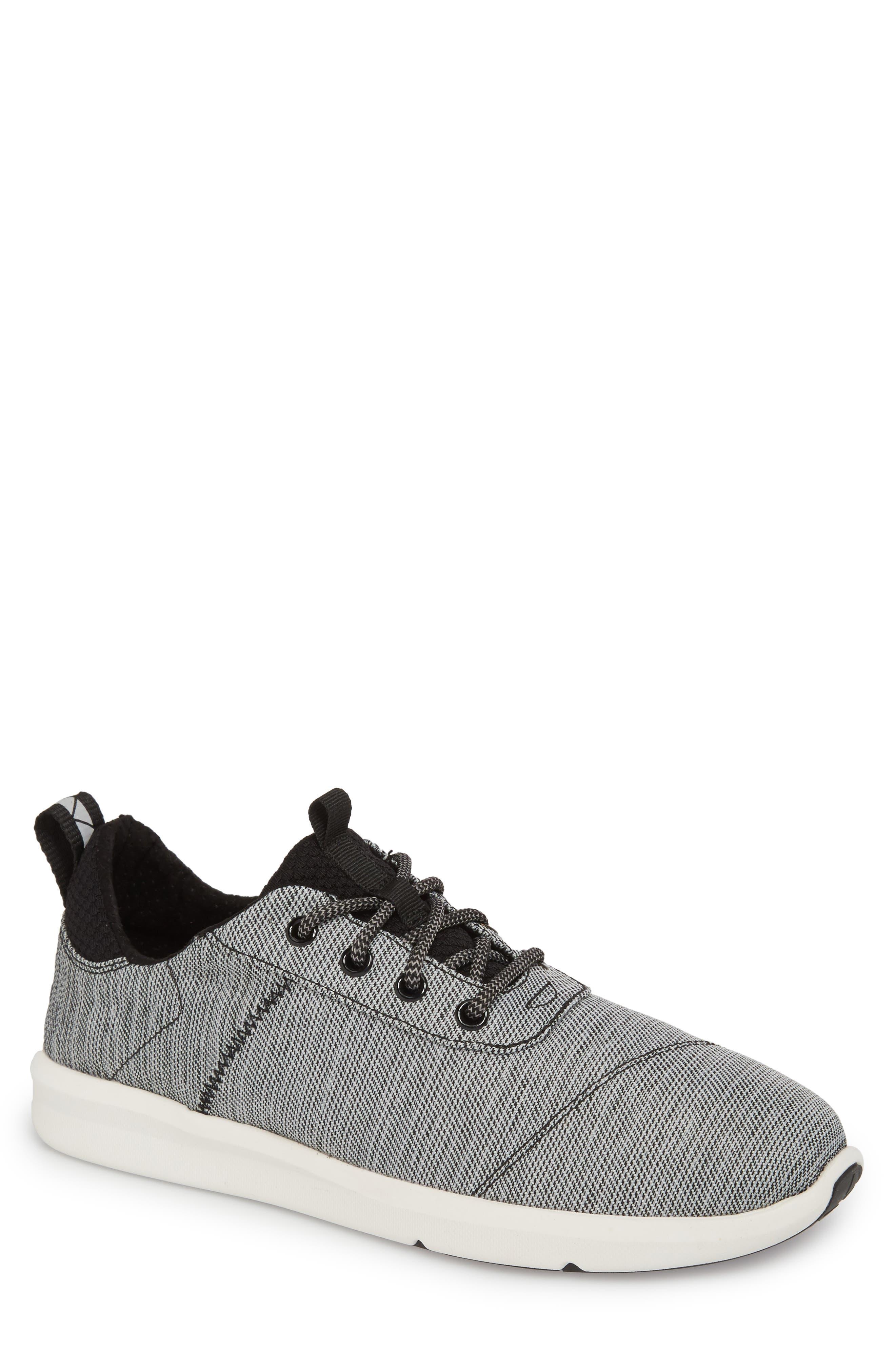 Cabrillo Sneaker,                         Main,                         color, Black Space-Dye
