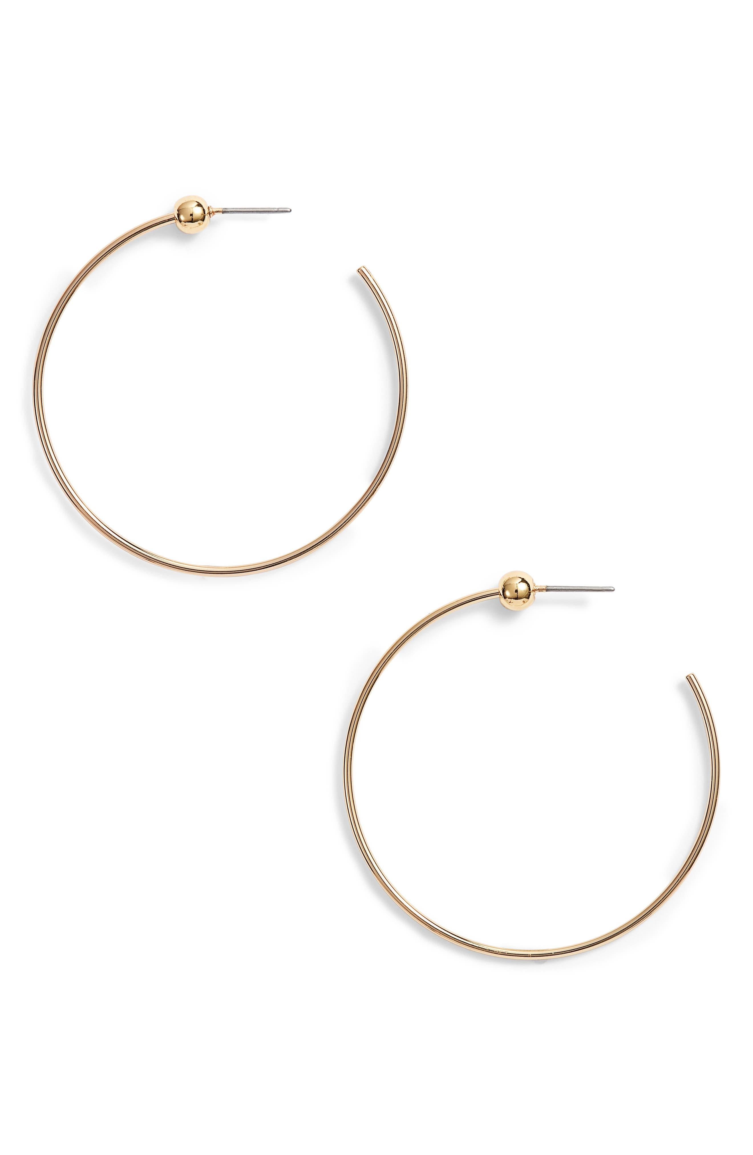 Jenny Bird Icon Small Hoop Earrings