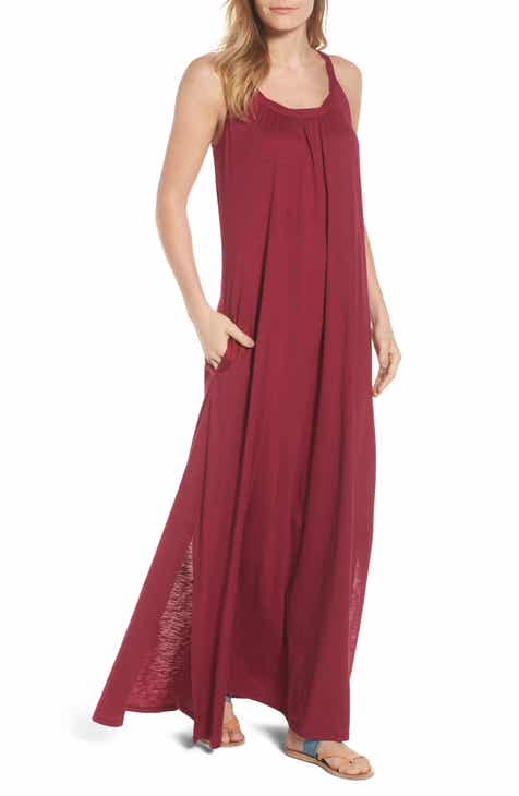 slit draped shoulder backless drapes size side party dress plus red maxi off