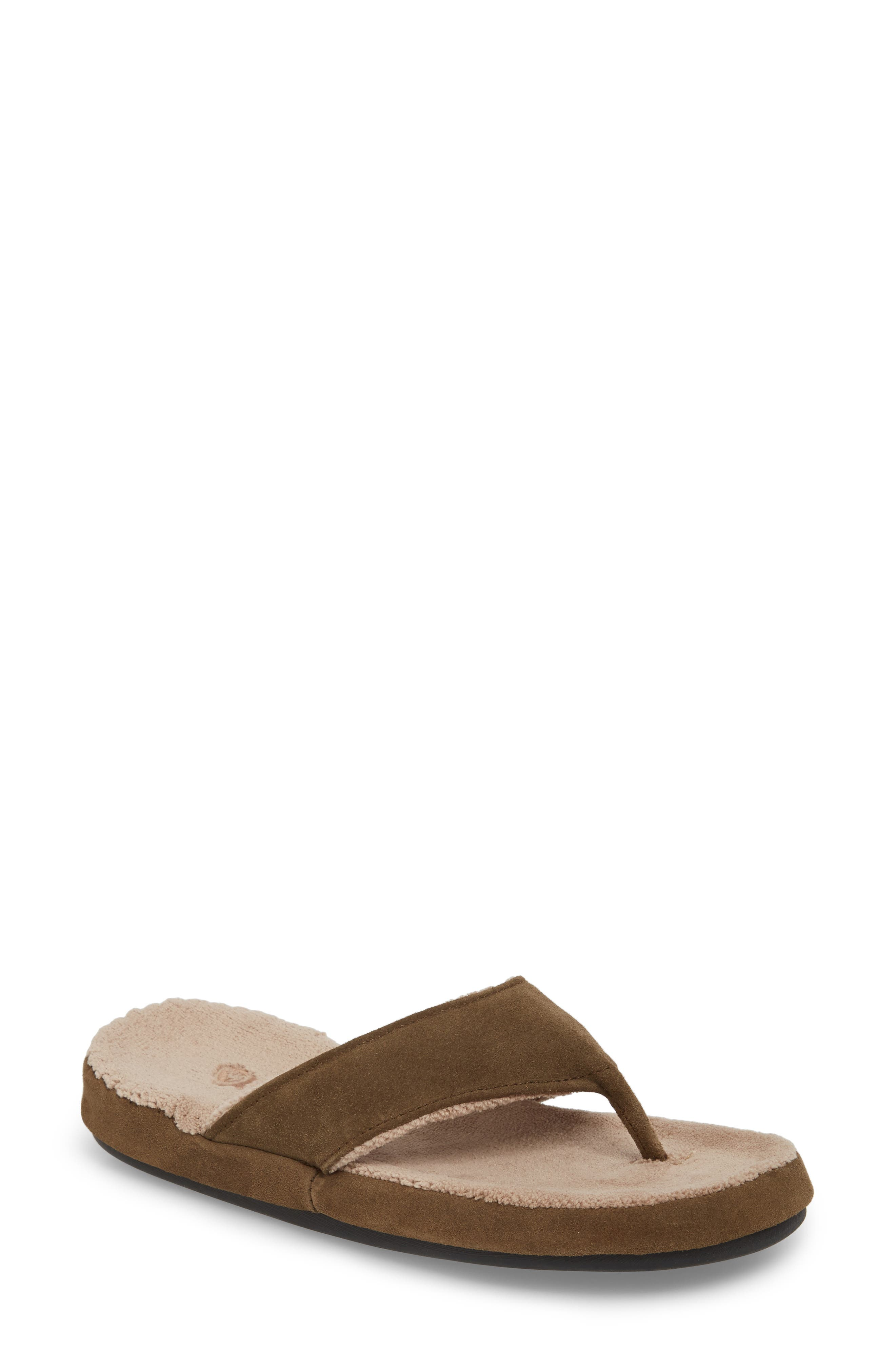 Spa Slipper,                         Main,                         color, Smoky Taupe