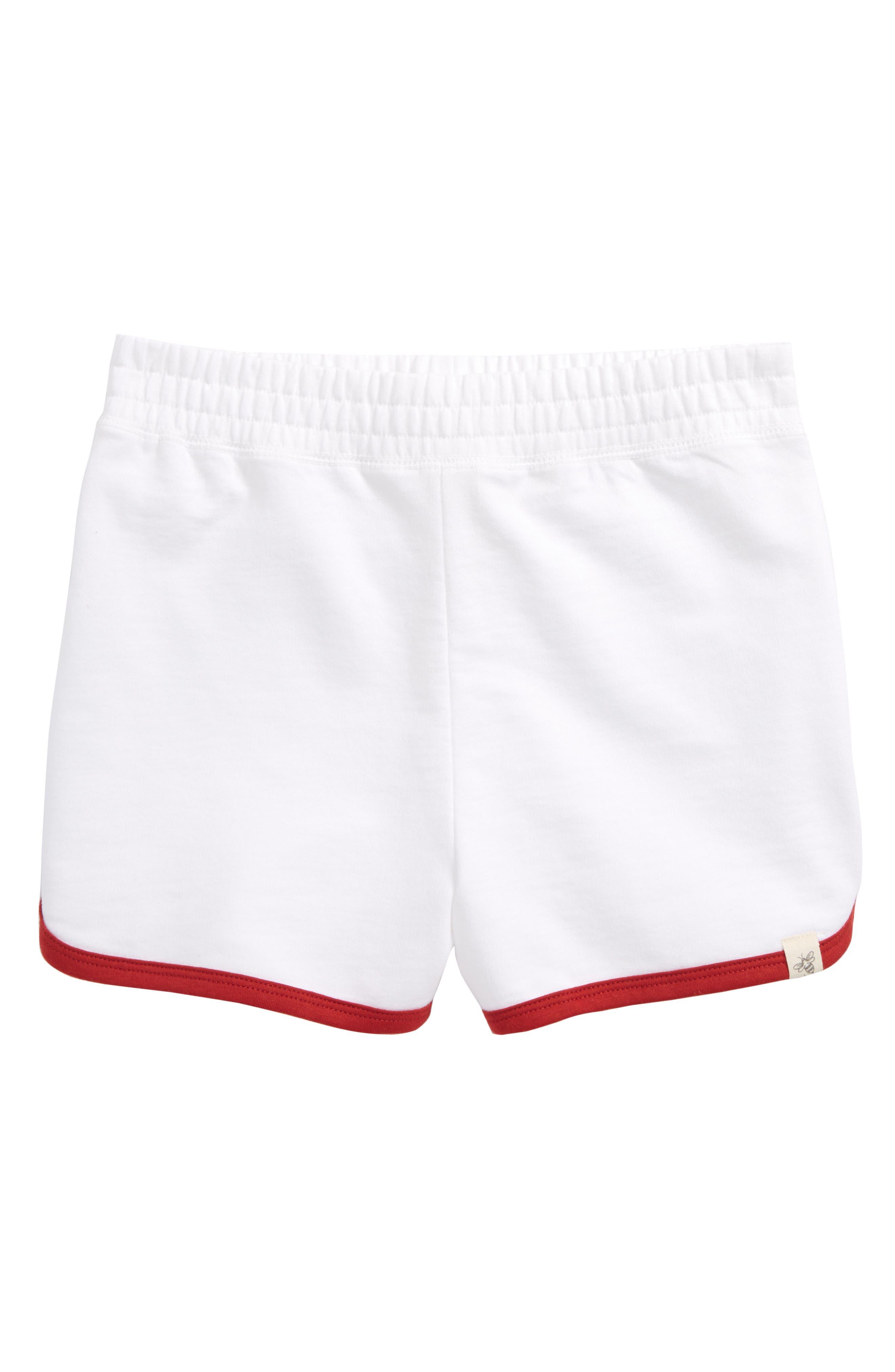 Organic Cotton Shorts,                             Main thumbnail 1, color,                             Cloud