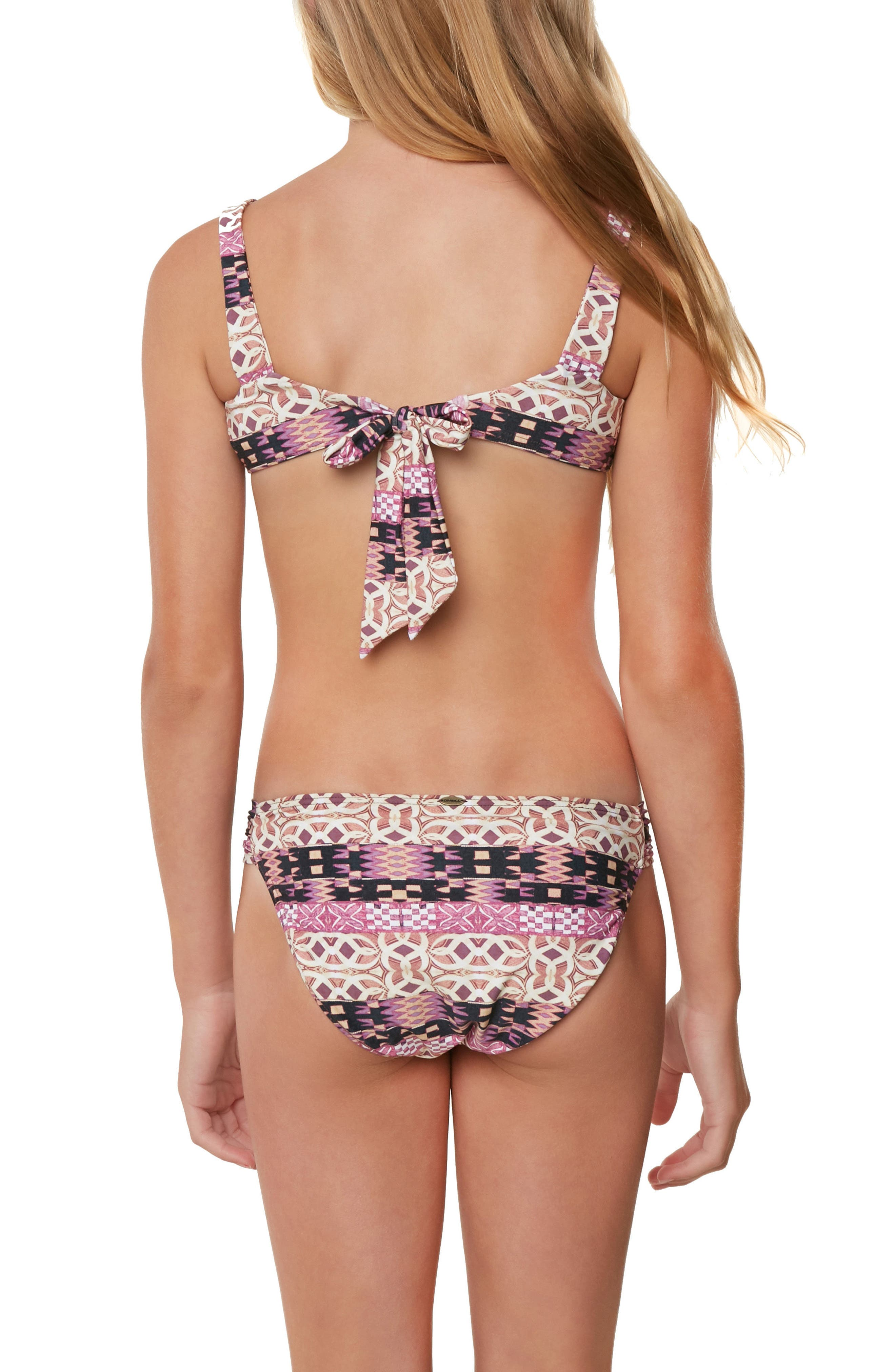 Alternate Image 4  - O'Neill Zanzibar Reversible Two-Piece Swimsuit (Big GIrls)