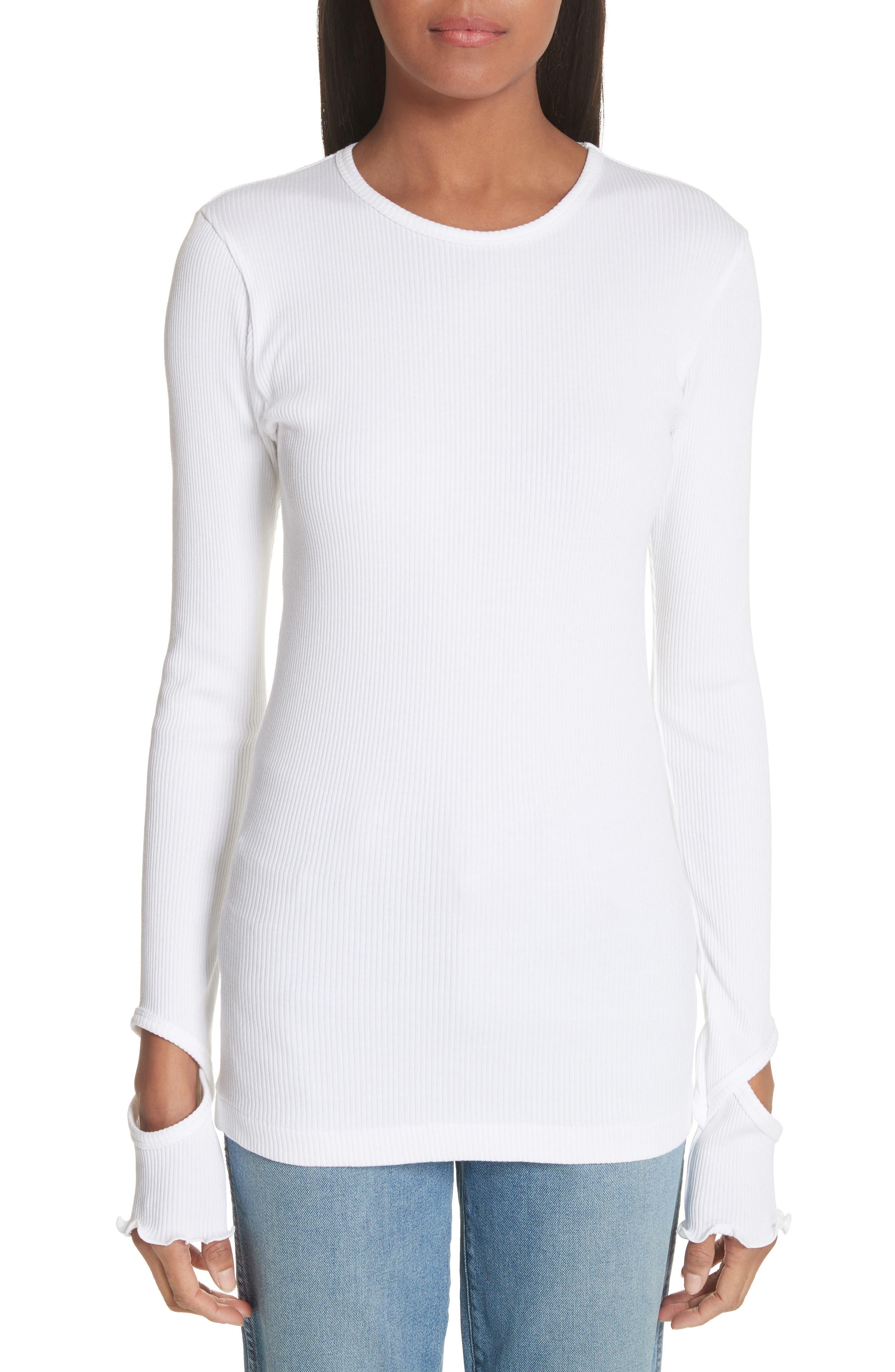 TOGA Ribbed Cutout Sweater
