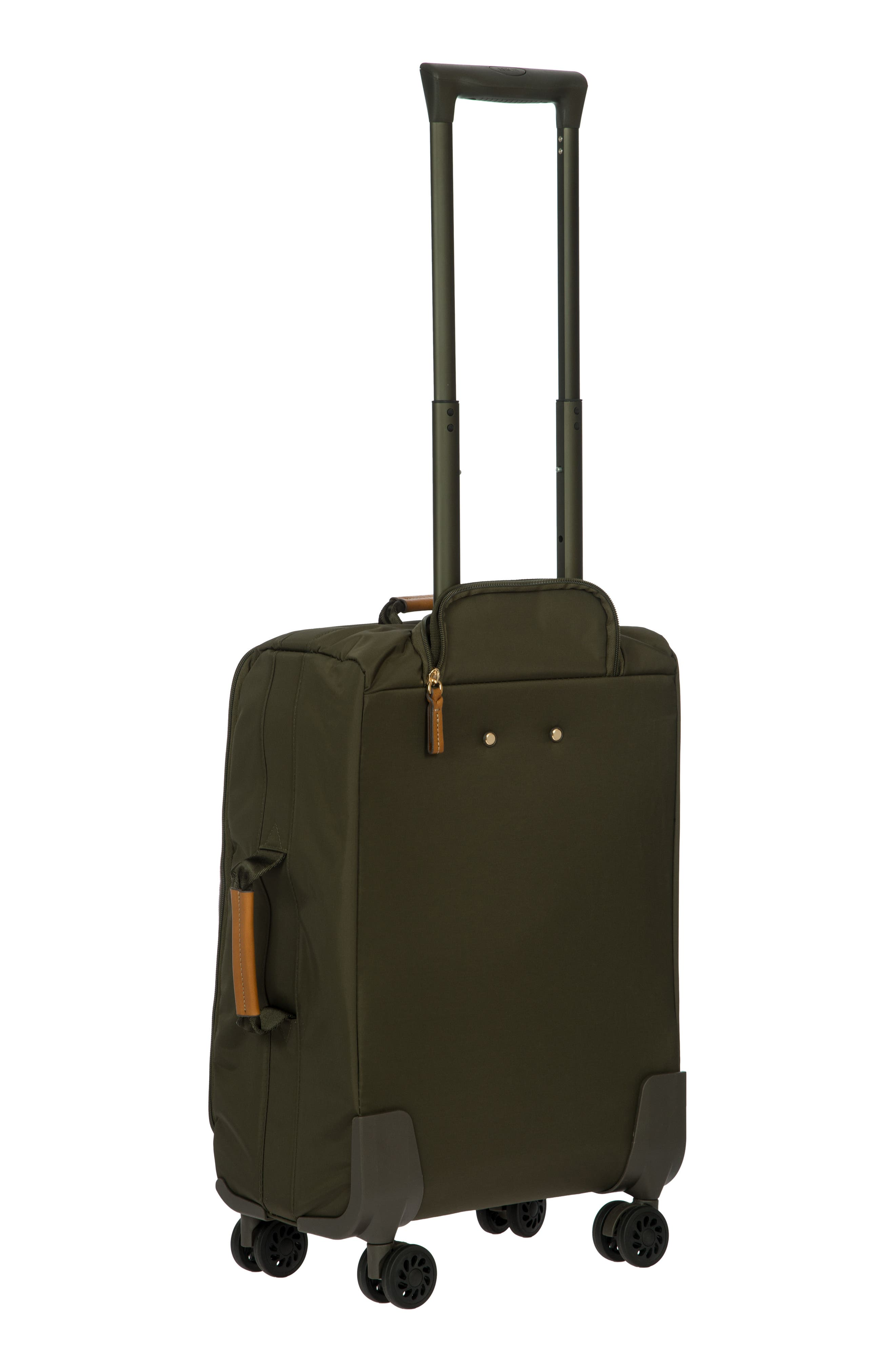 X-Bag 21-Inch Spinner Carry-On,                             Alternate thumbnail 2, color,                             Olive