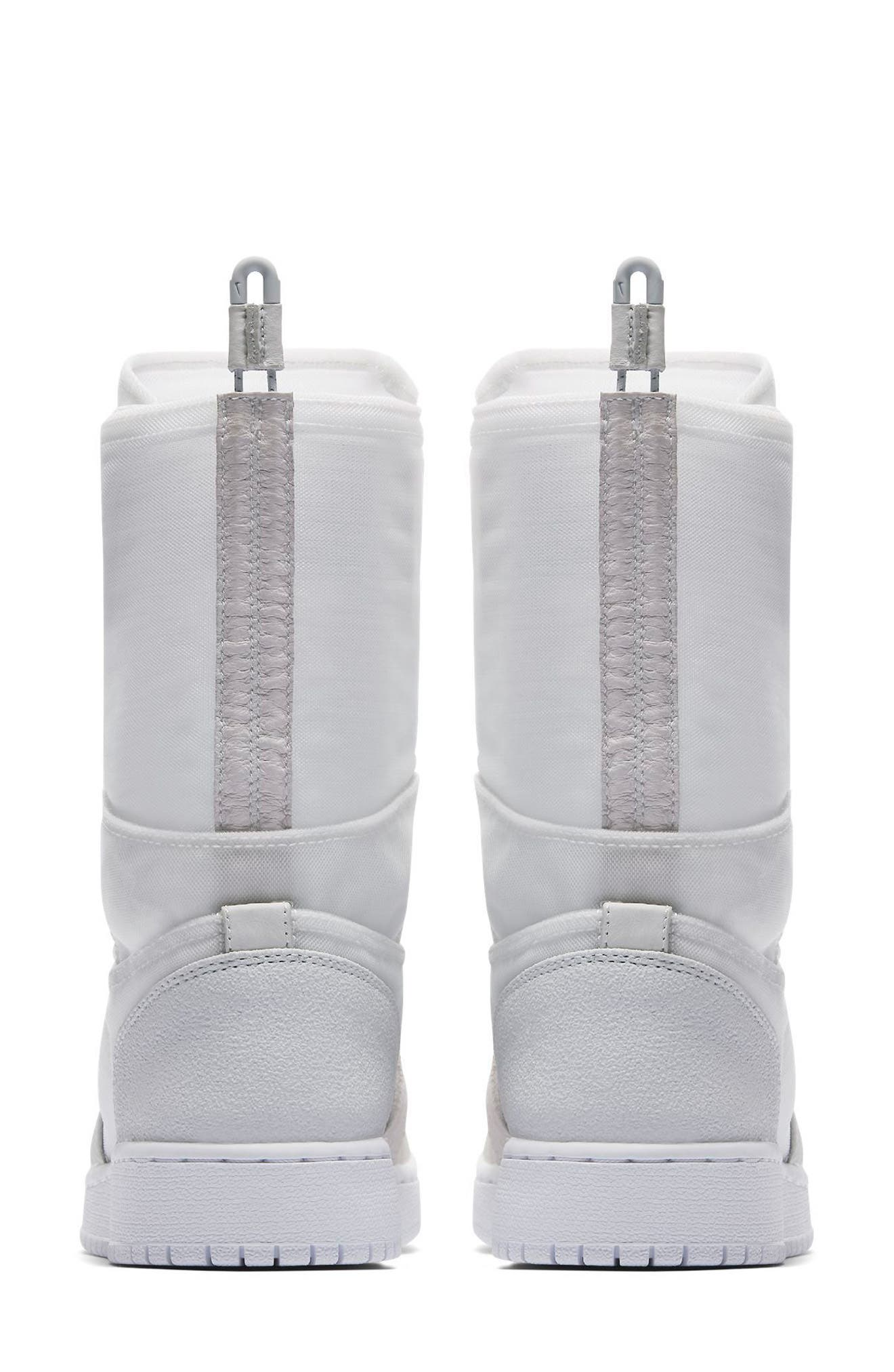 Air Jordan 1 Explorer XX Convertible High Top Sneaker,                             Alternate thumbnail 2, color,                             Off White/ Off White
