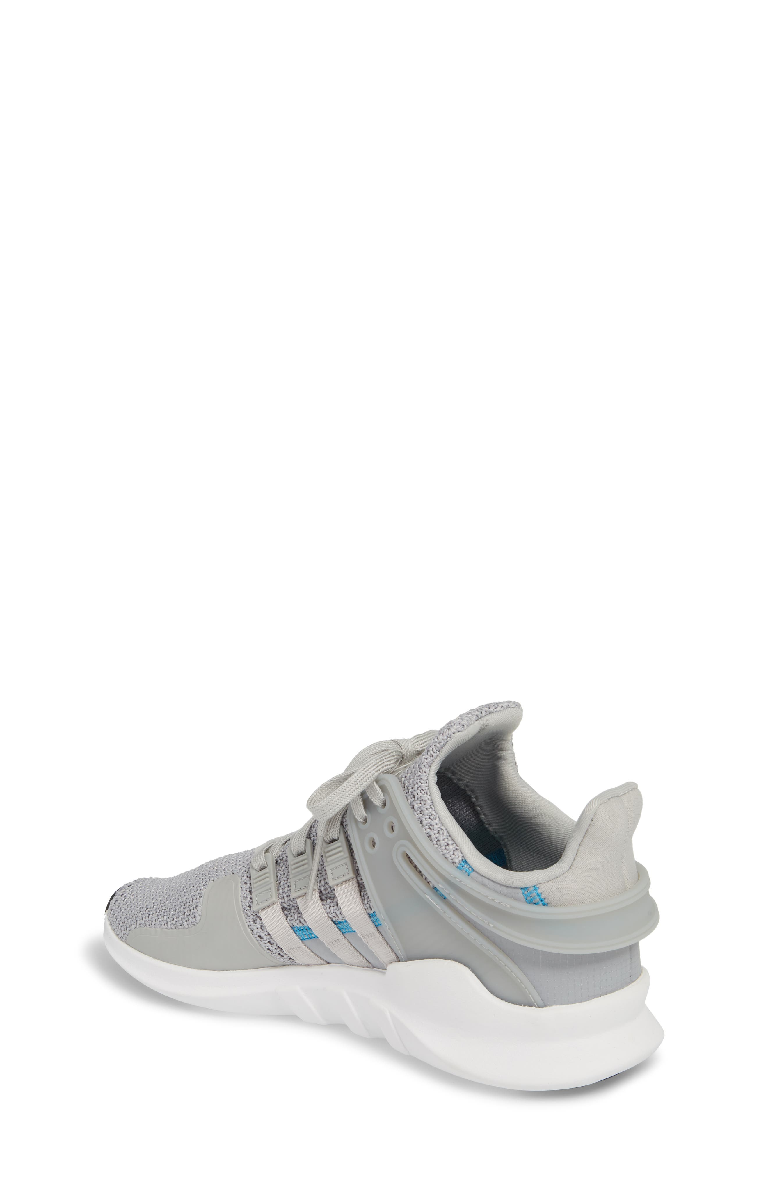 EQT Support Adv Sneaker,                             Alternate thumbnail 2, color,                             Grey / Grey / White