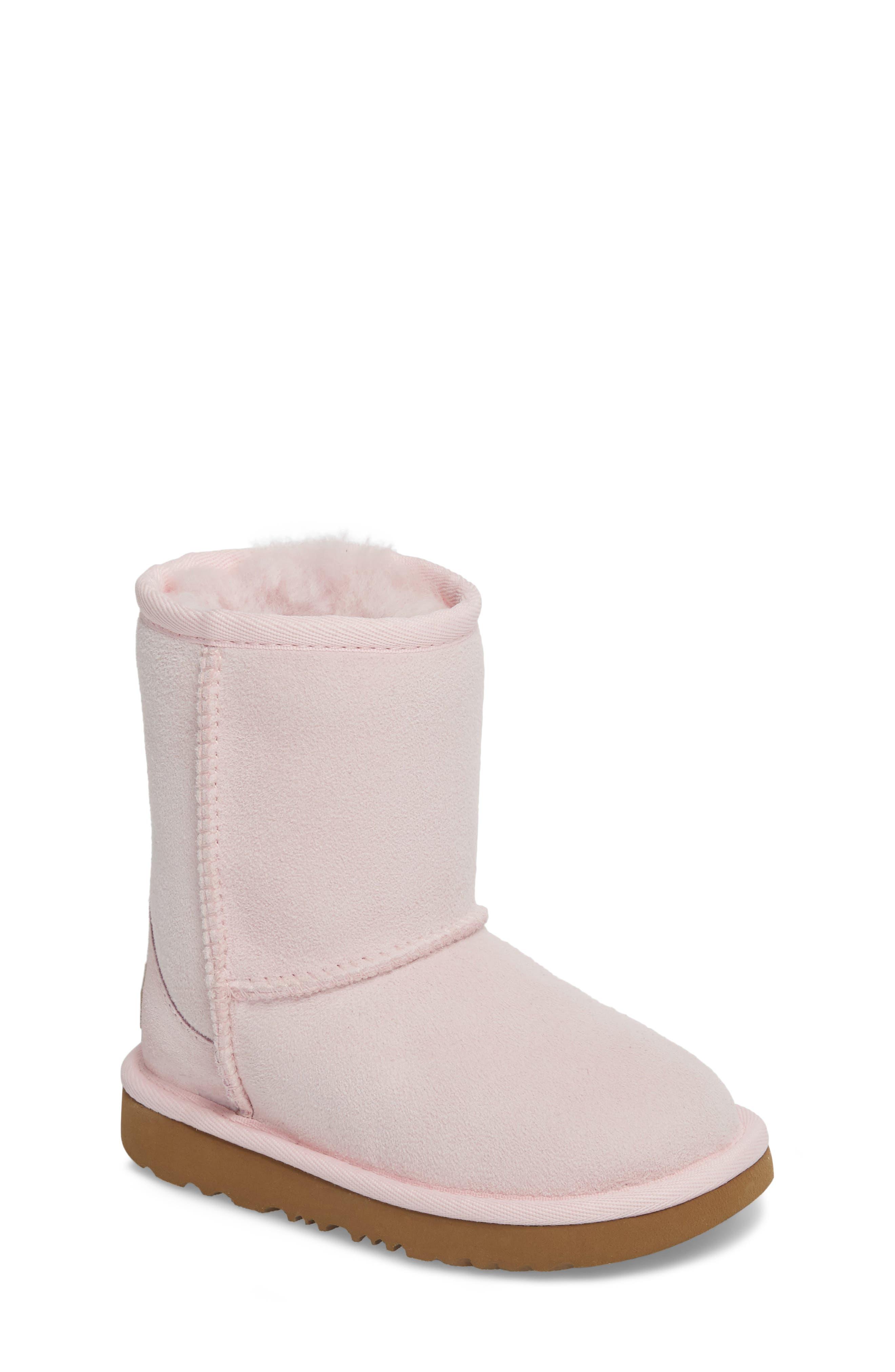 Alternate Image 1 Selected - UGG® Classic II Water Resistant Genuine Shearling Boot (Walker, Toddler, Little Kid & Big Kid)