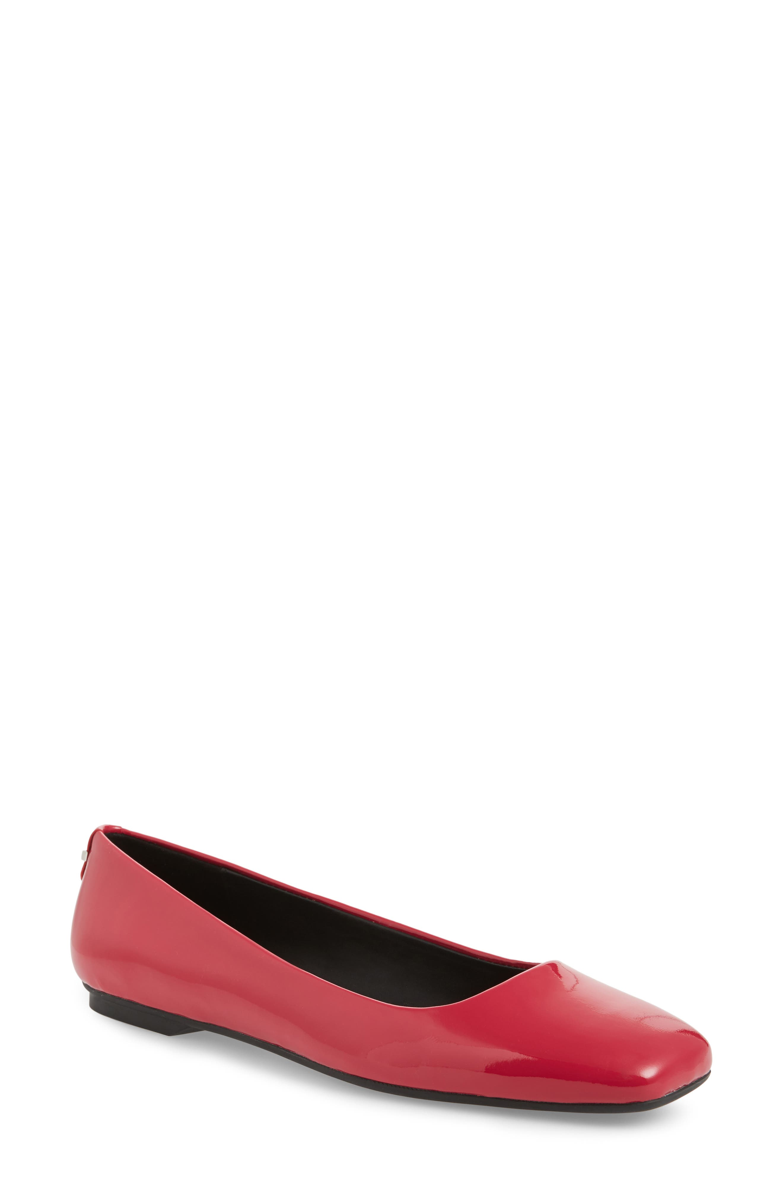 Alternate Image 1 Selected - Calvin Klein Enith Flat (Women)