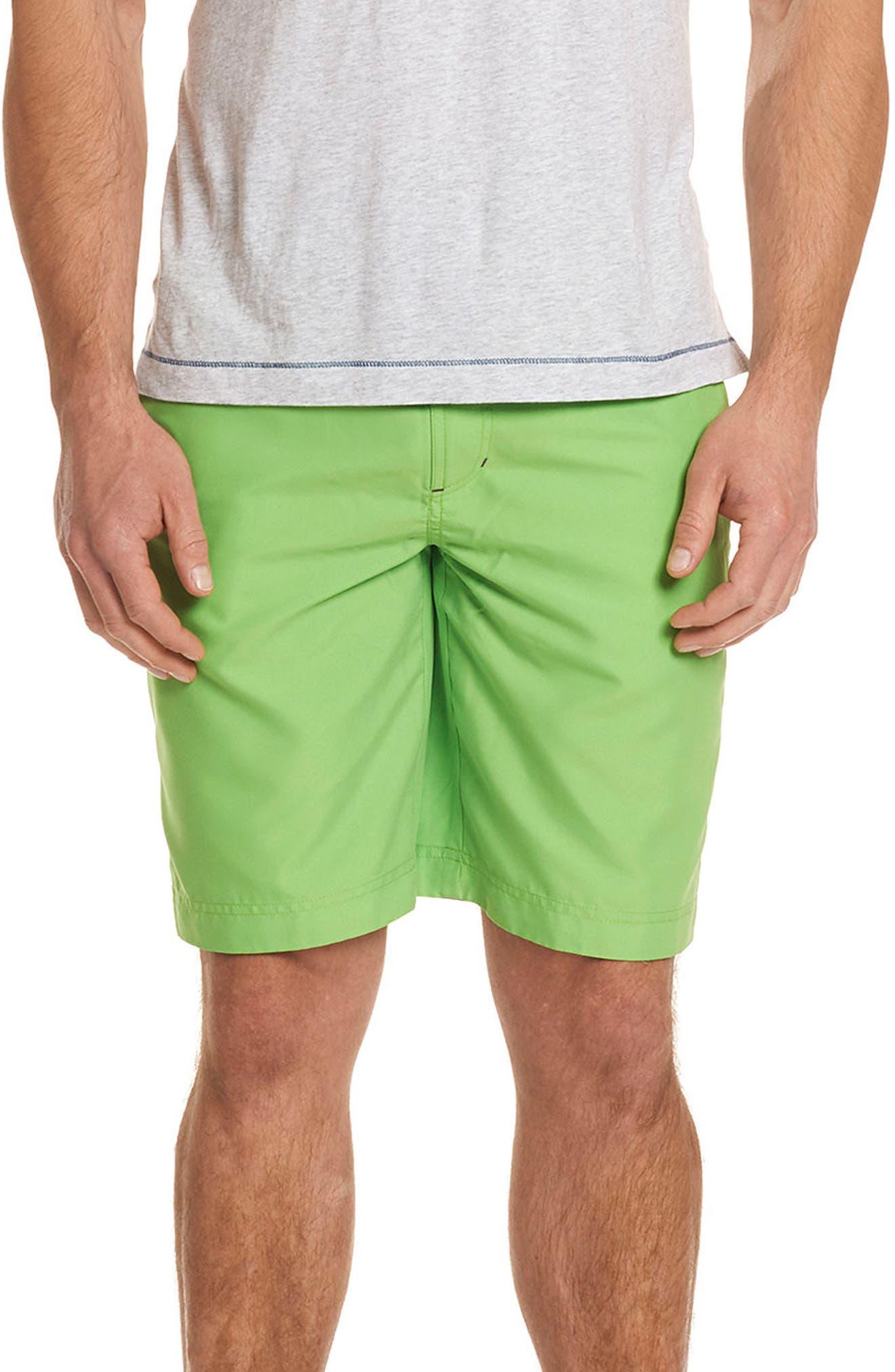 Dos Rios Swim Trunks,                         Main,                         color, Green