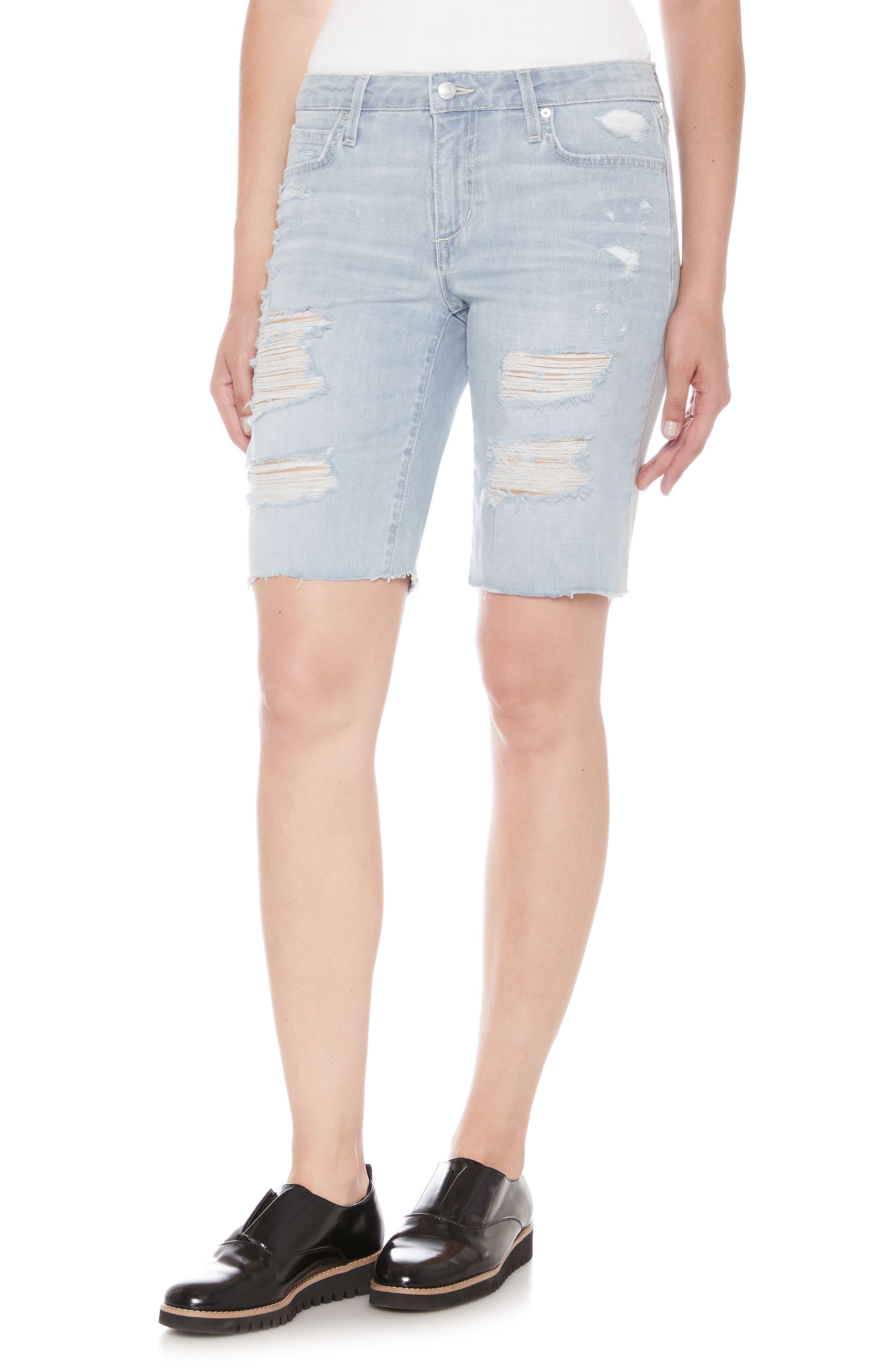 Finn Bermuda Shorts,                         Main,                         color, Teena