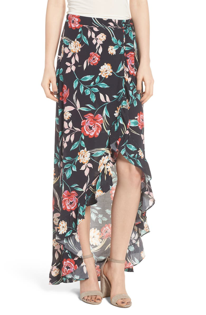 Waves for Days Maxi Wrap Skirt