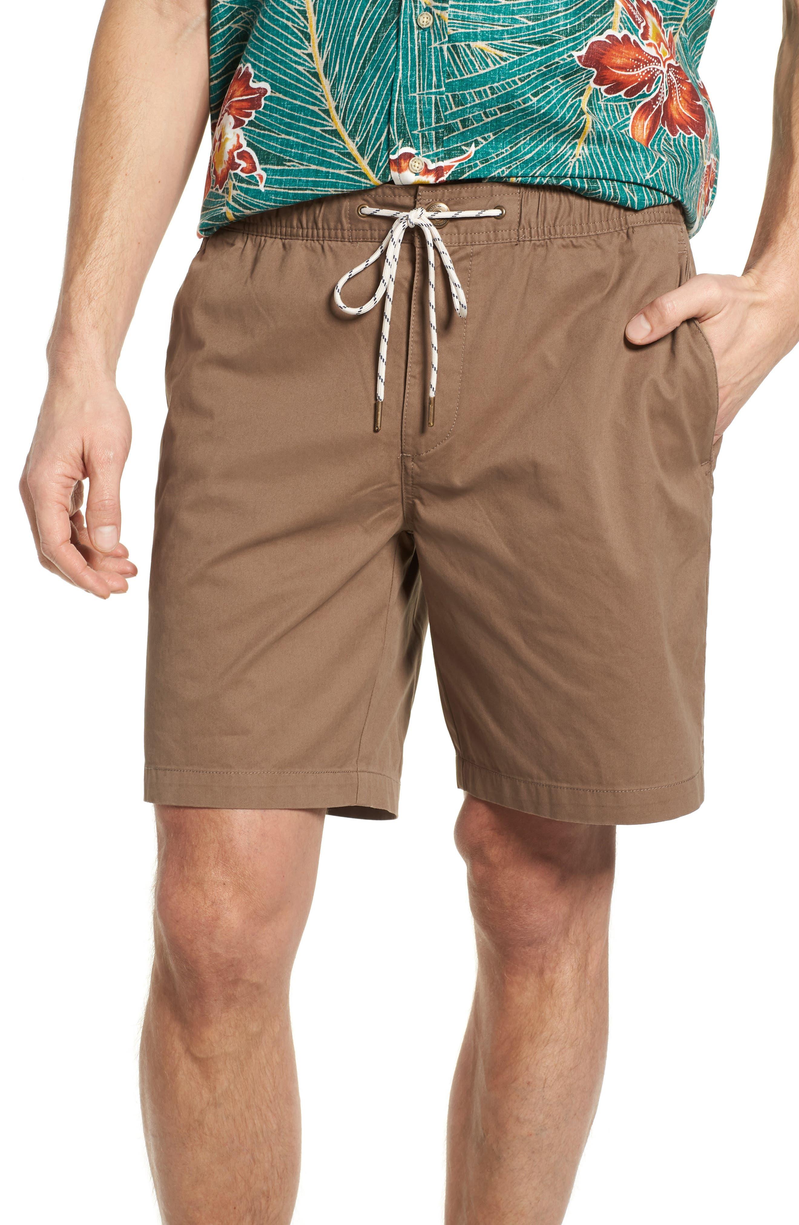 Beach Shorts,                         Main,                         color, Khaki
