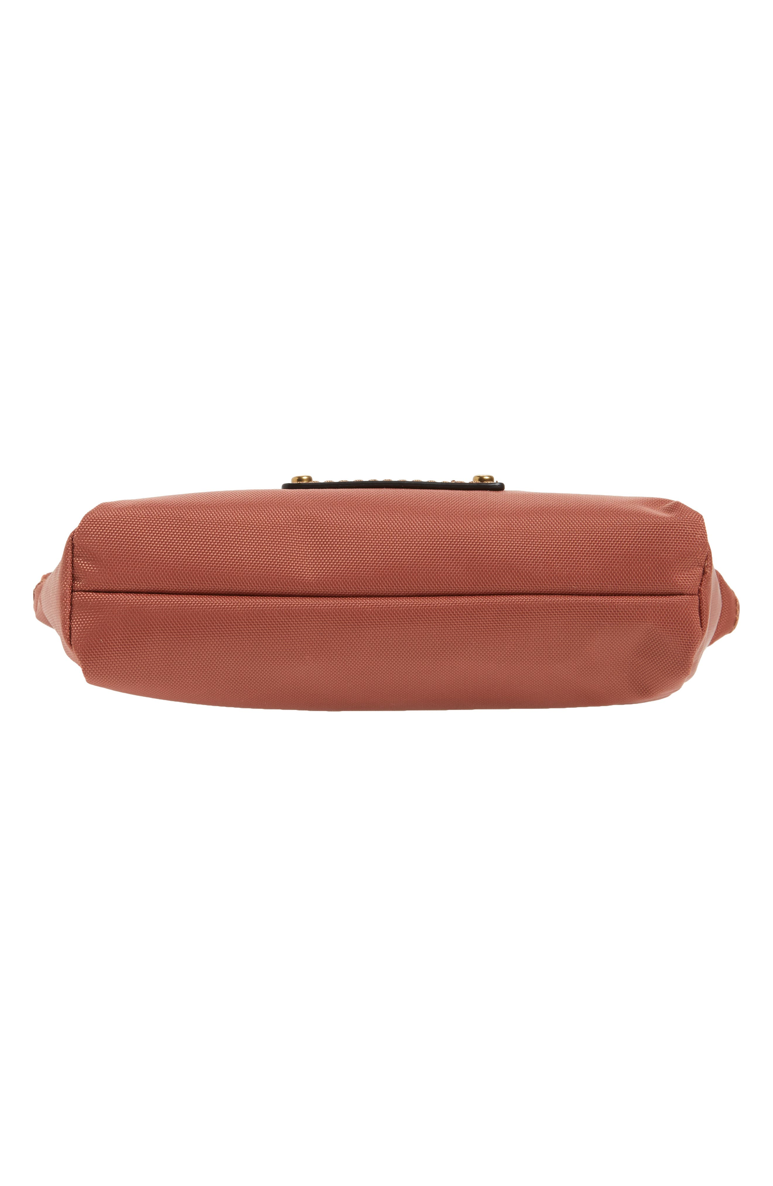 Ivy Nylon Cosmetics Bag,                             Alternate thumbnail 5, color,                             Dusty Rose