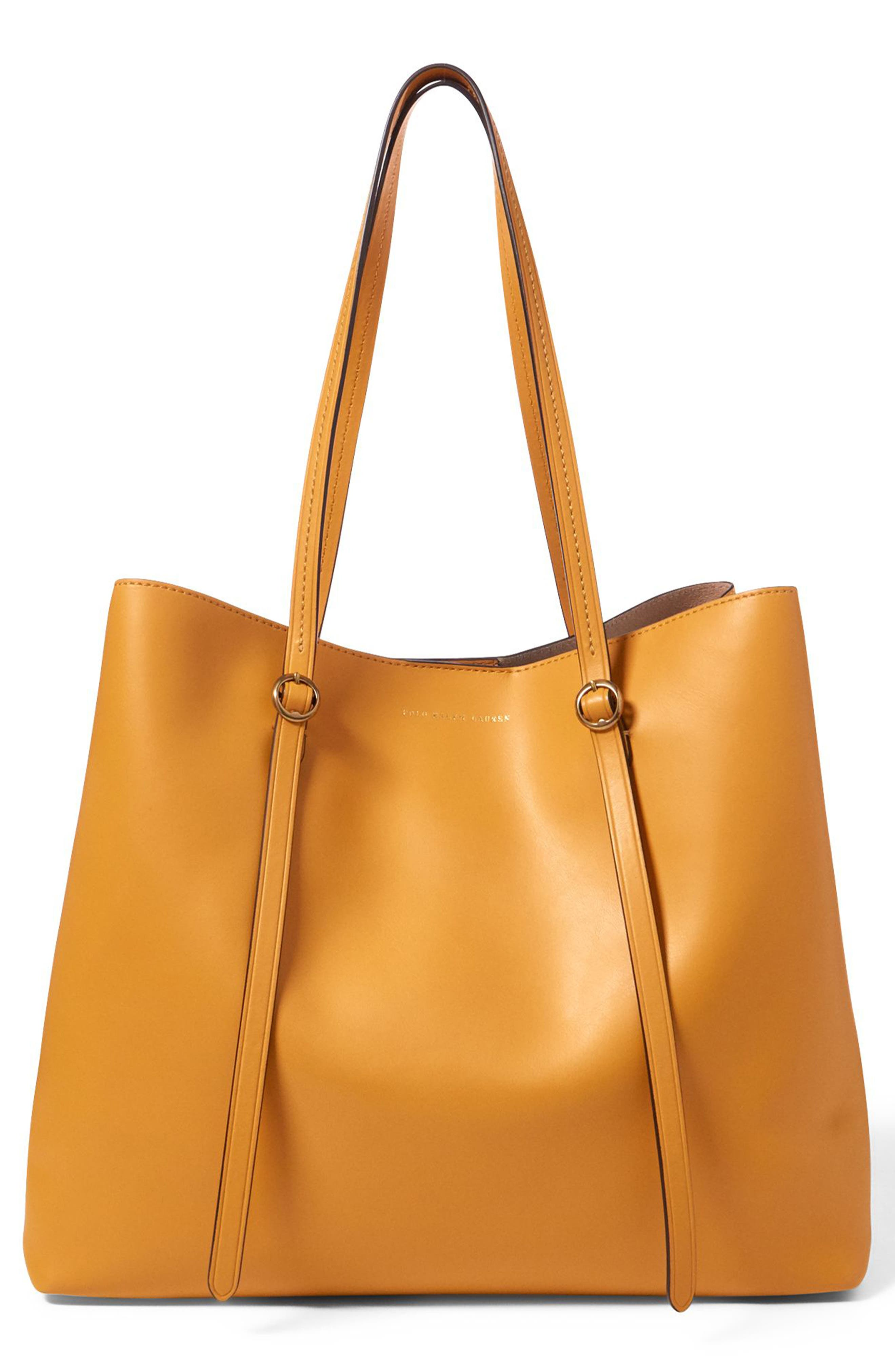 Alternate Image 1 Selected - Polo Ralph Lauren Lennox Leather Tote