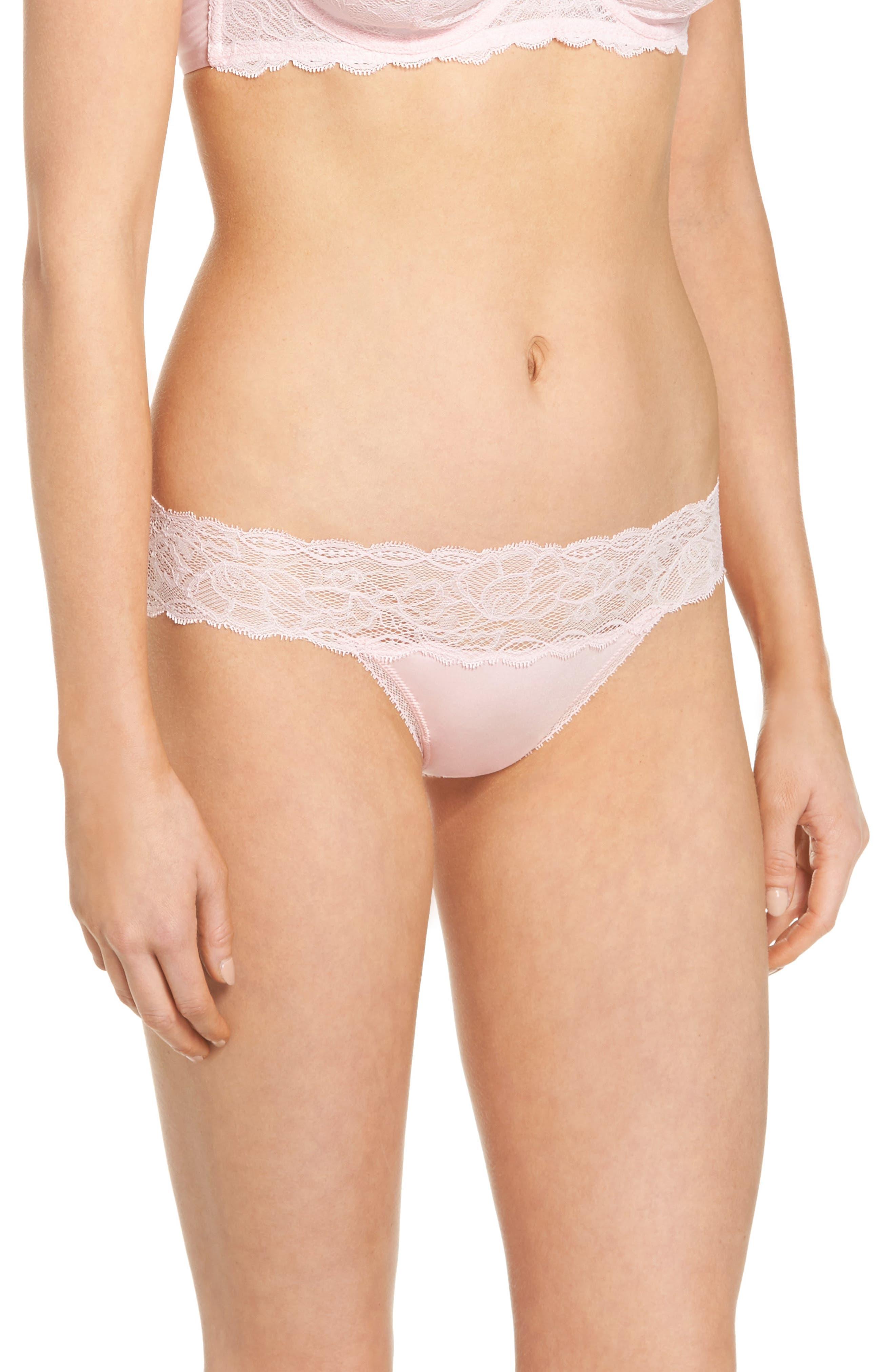 Seductive Comfort Lace Bikini,                             Alternate thumbnail 3, color,                             Attract