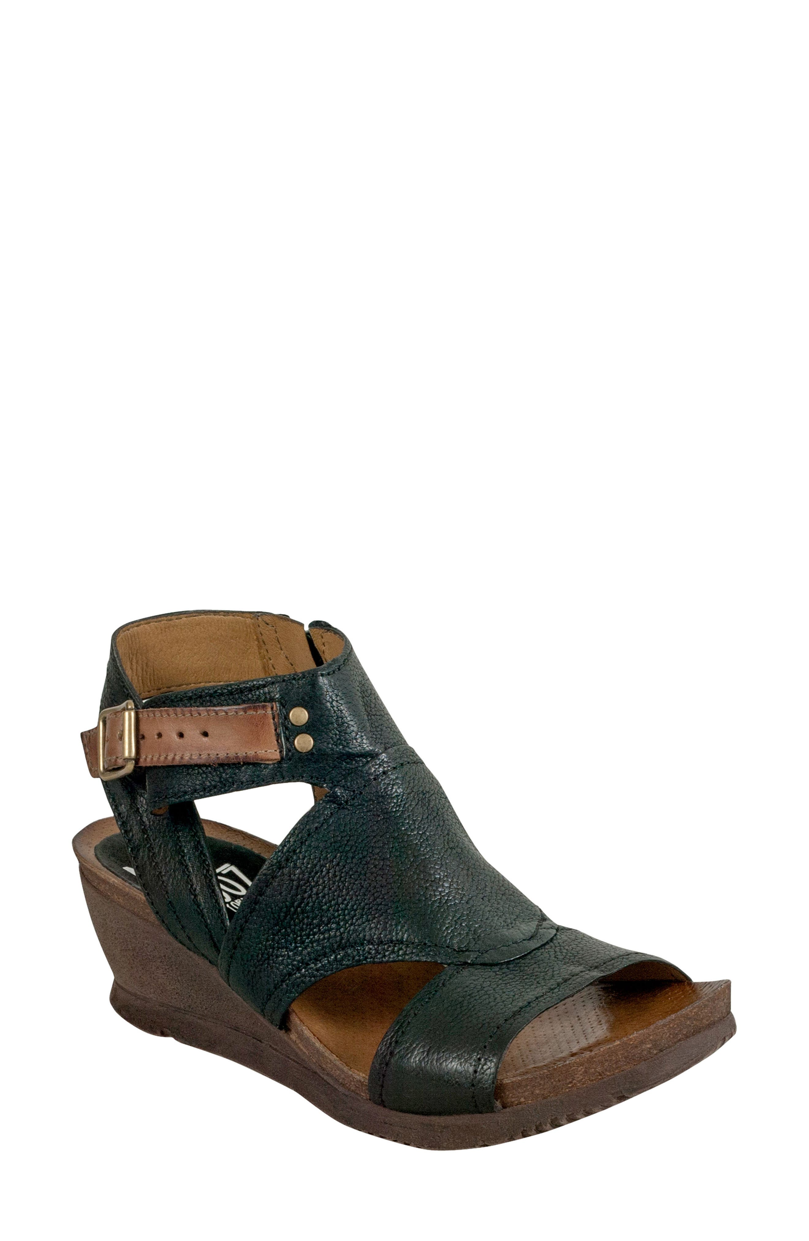 Miz Mooz Scout Wedge Sandal (Women)