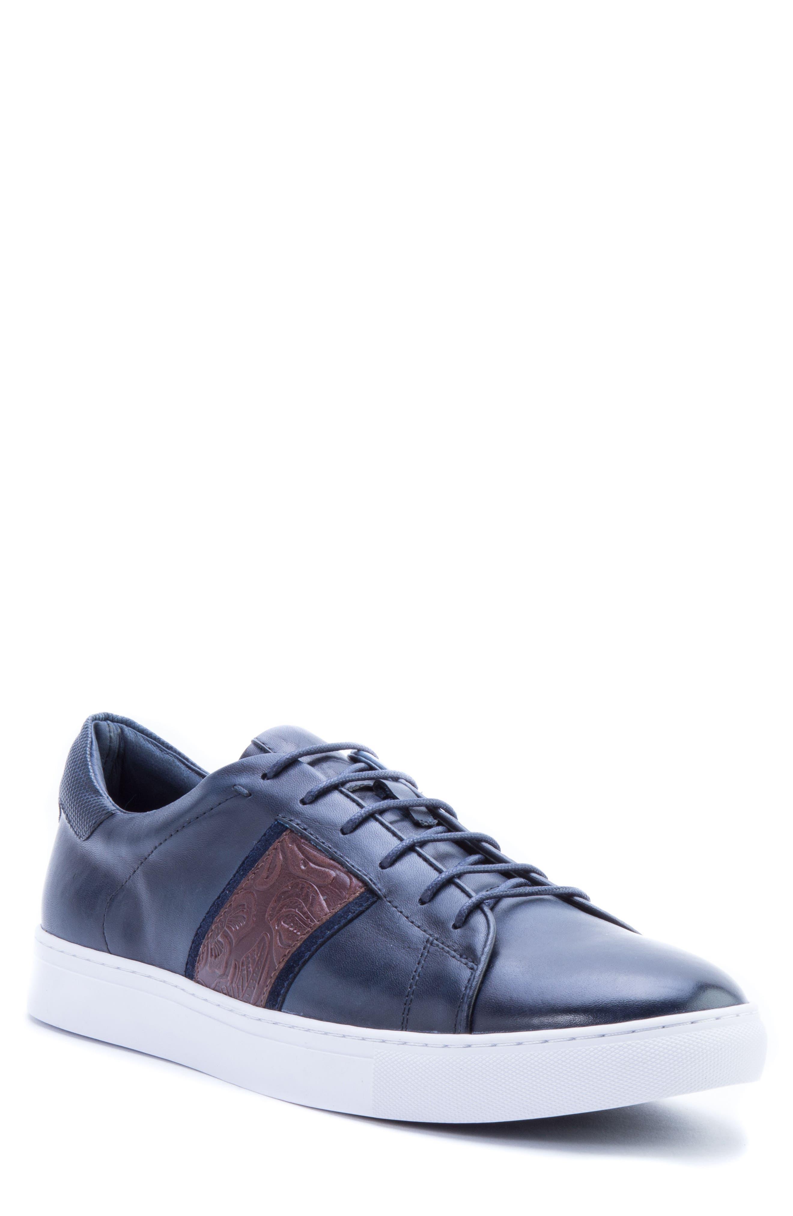 Robert Graham Men's Delgado Embossed Sneaker pfknoe0c