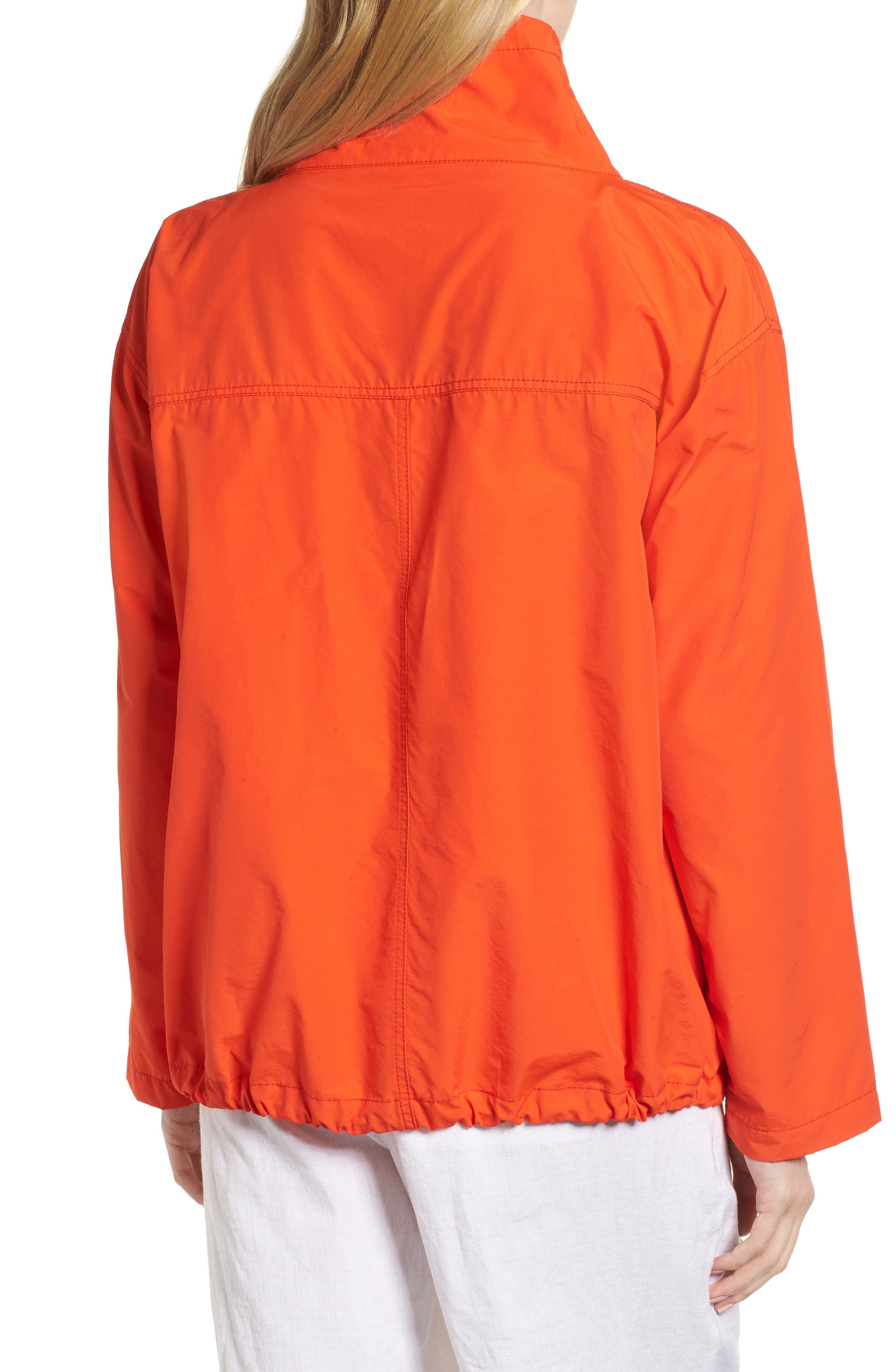 Pullover Jacket,                             Alternate thumbnail 2, color,                             Hot Red