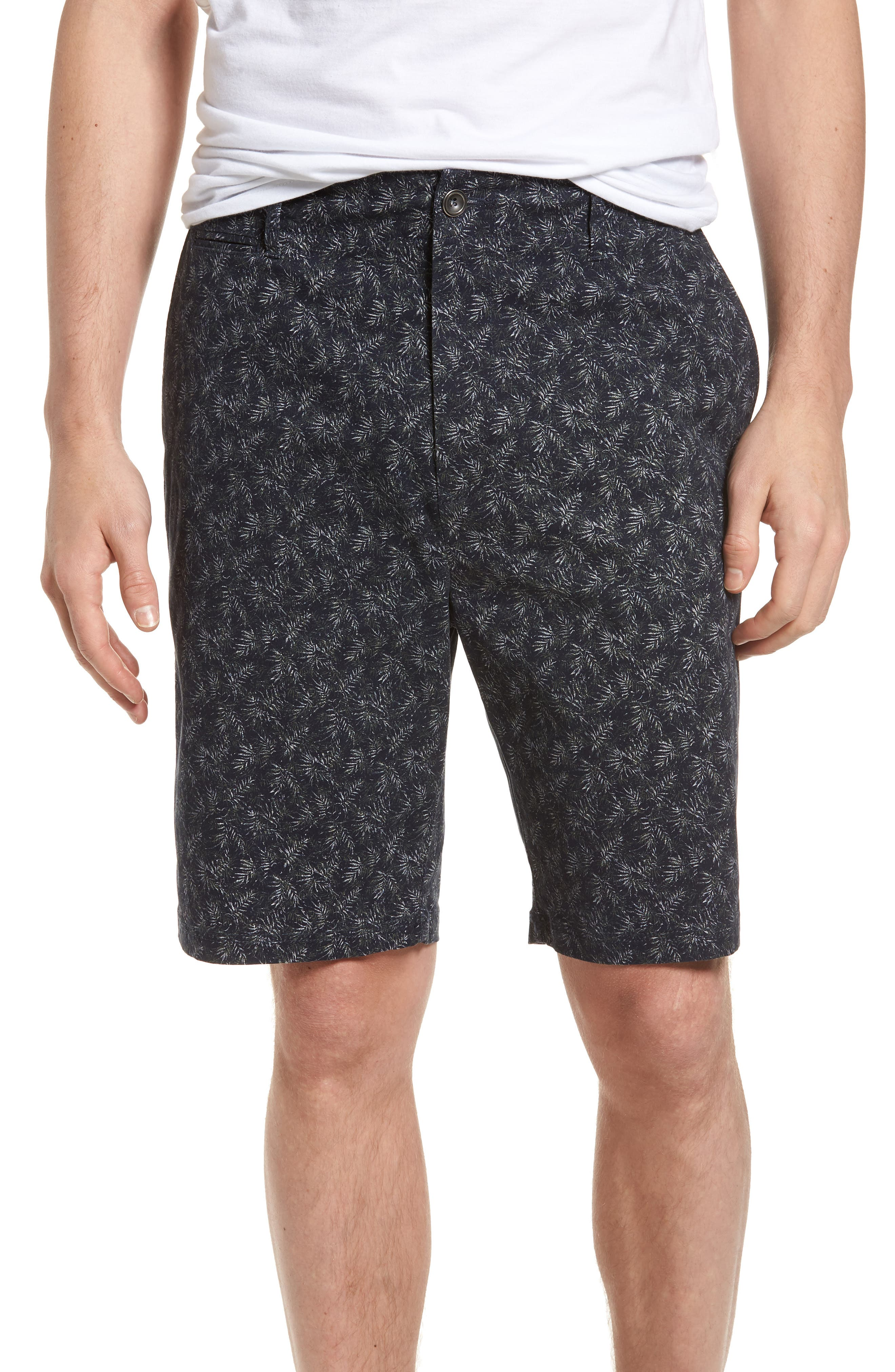 Dusky Forest Shorts,                         Main,                         color, Indigo