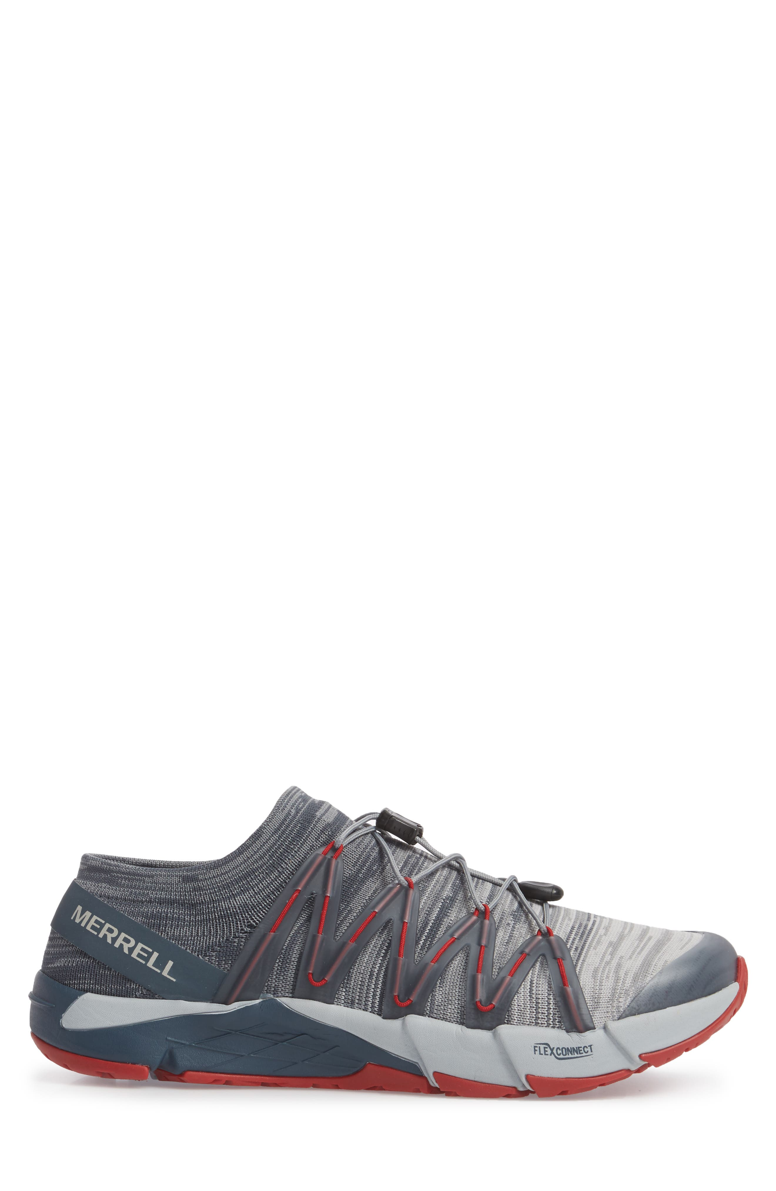 Bare Access Flex Knit Running Shoe,                             Alternate thumbnail 3, color,                             Vapor