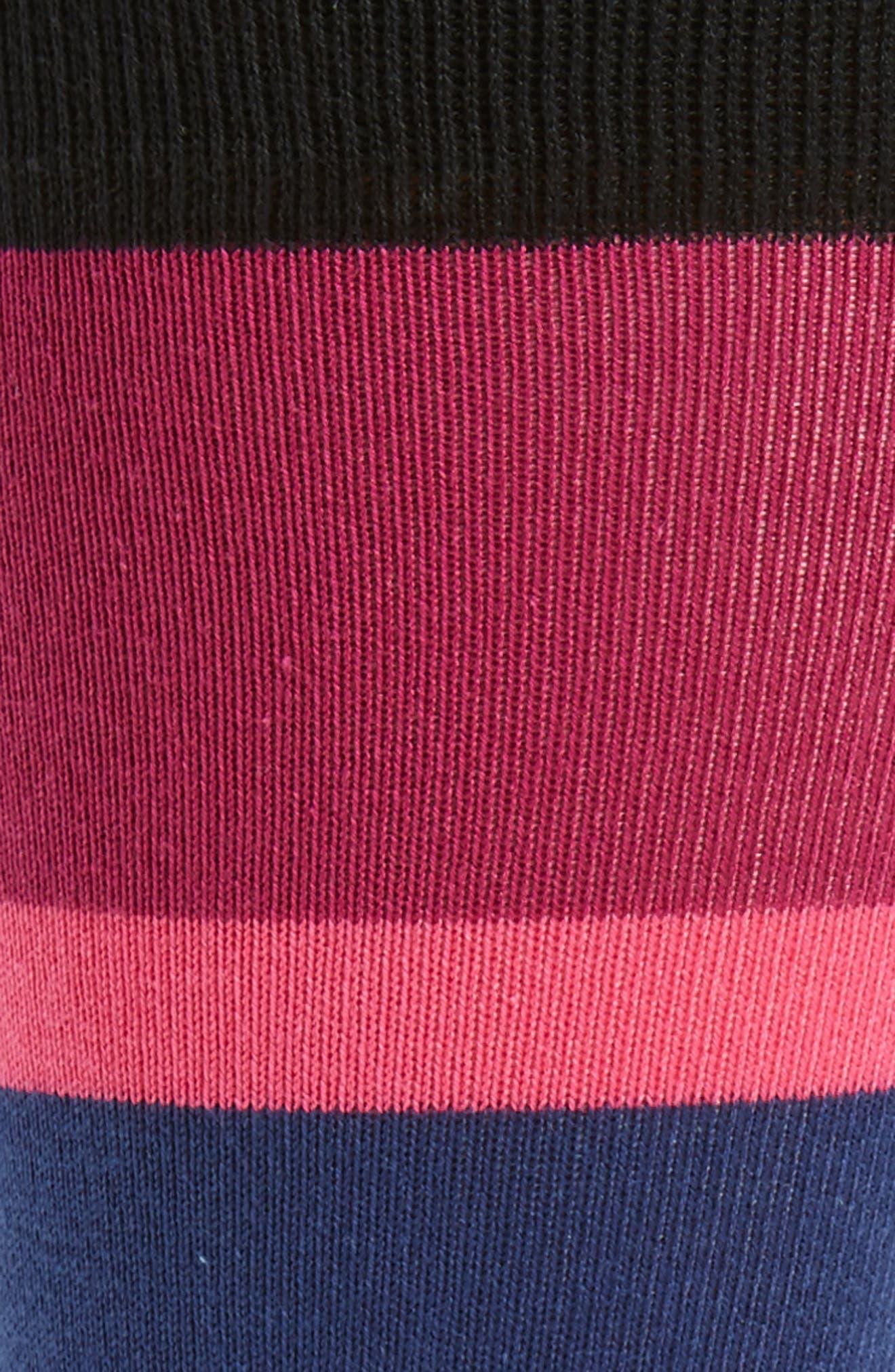 Jolly Colorblock Socks,                             Alternate thumbnail 2, color,                             Blue/ Grey Multi