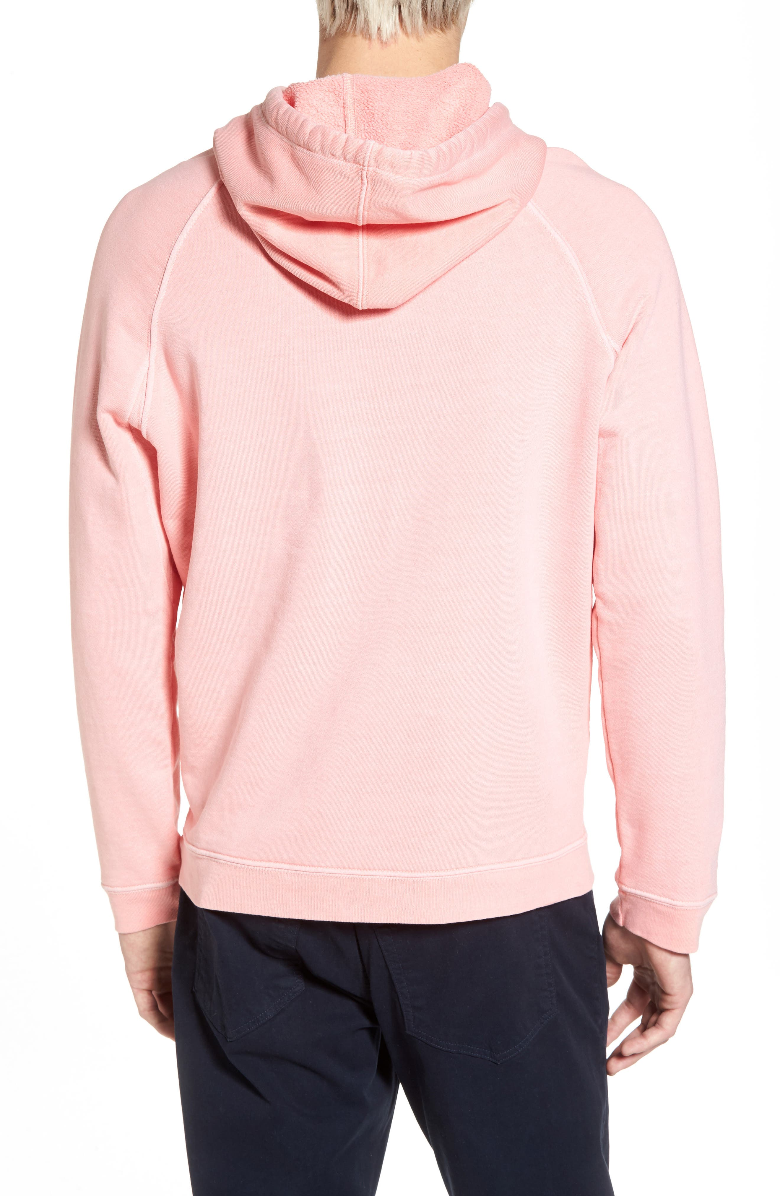 Vintage Pullover Hoodie,                             Alternate thumbnail 2, color,                             Faded Light Pink