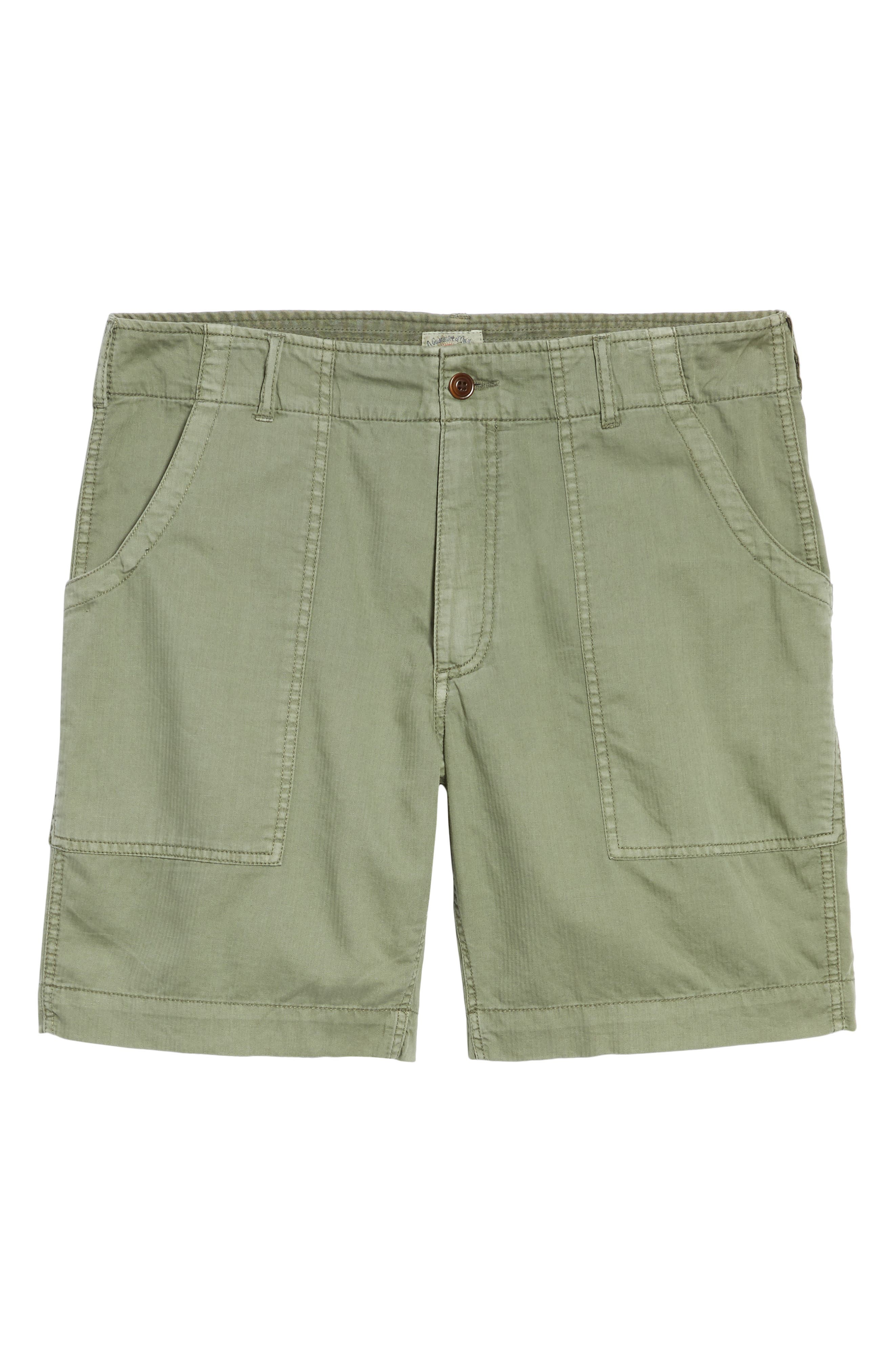 Radar Camp Shorts,                             Alternate thumbnail 6, color,                             Olive
