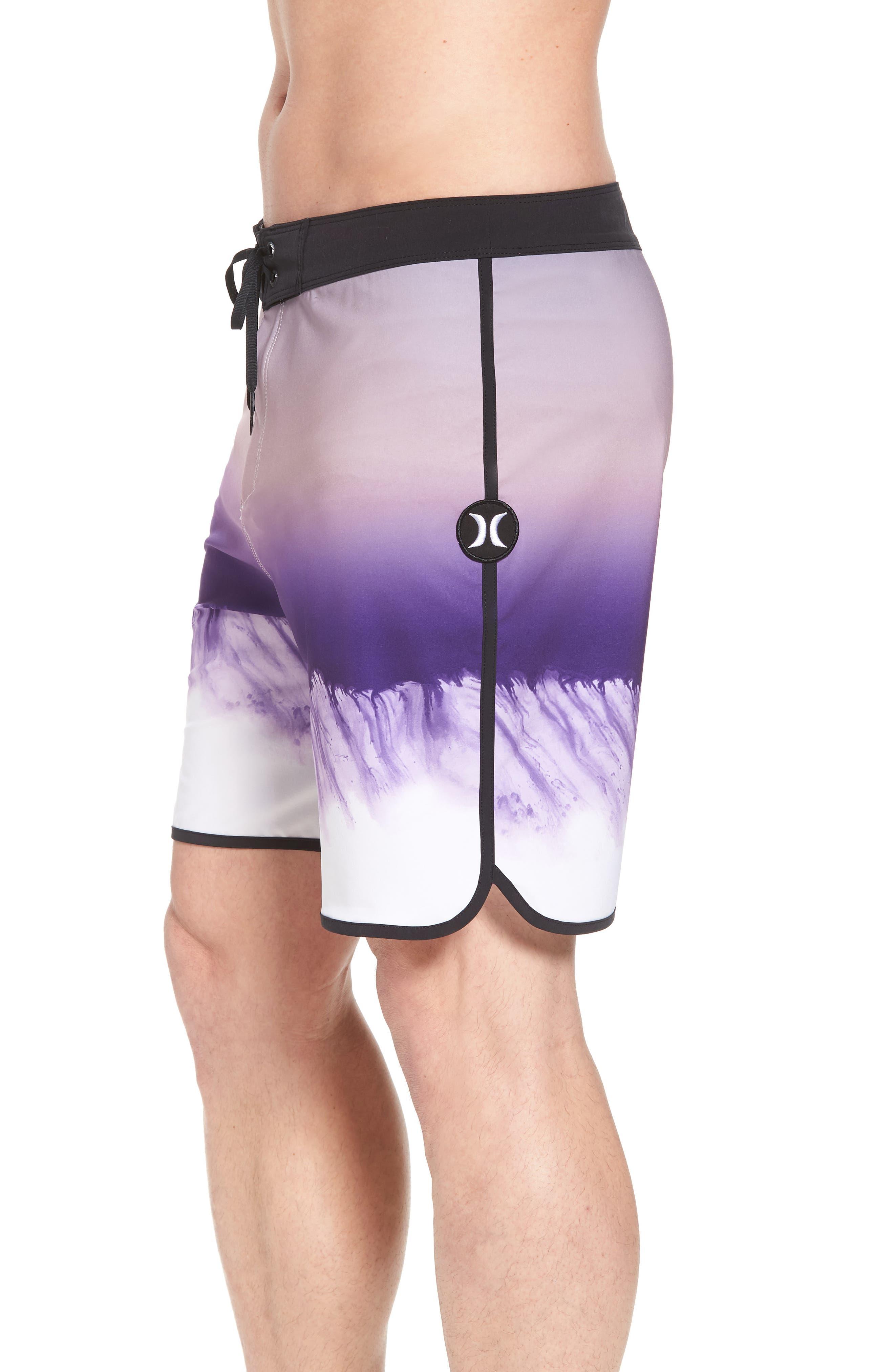 Phantom Estuary Board Shorts,                             Alternate thumbnail 4, color,                             Elemental Rose