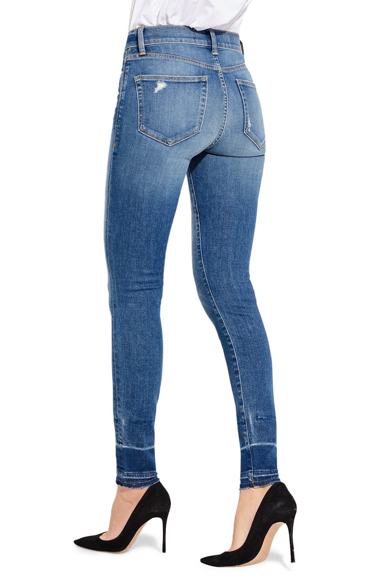 The Chiller High Waist Skinny Jeans,                             Alternate thumbnail 2, color,                             Pecking Disco