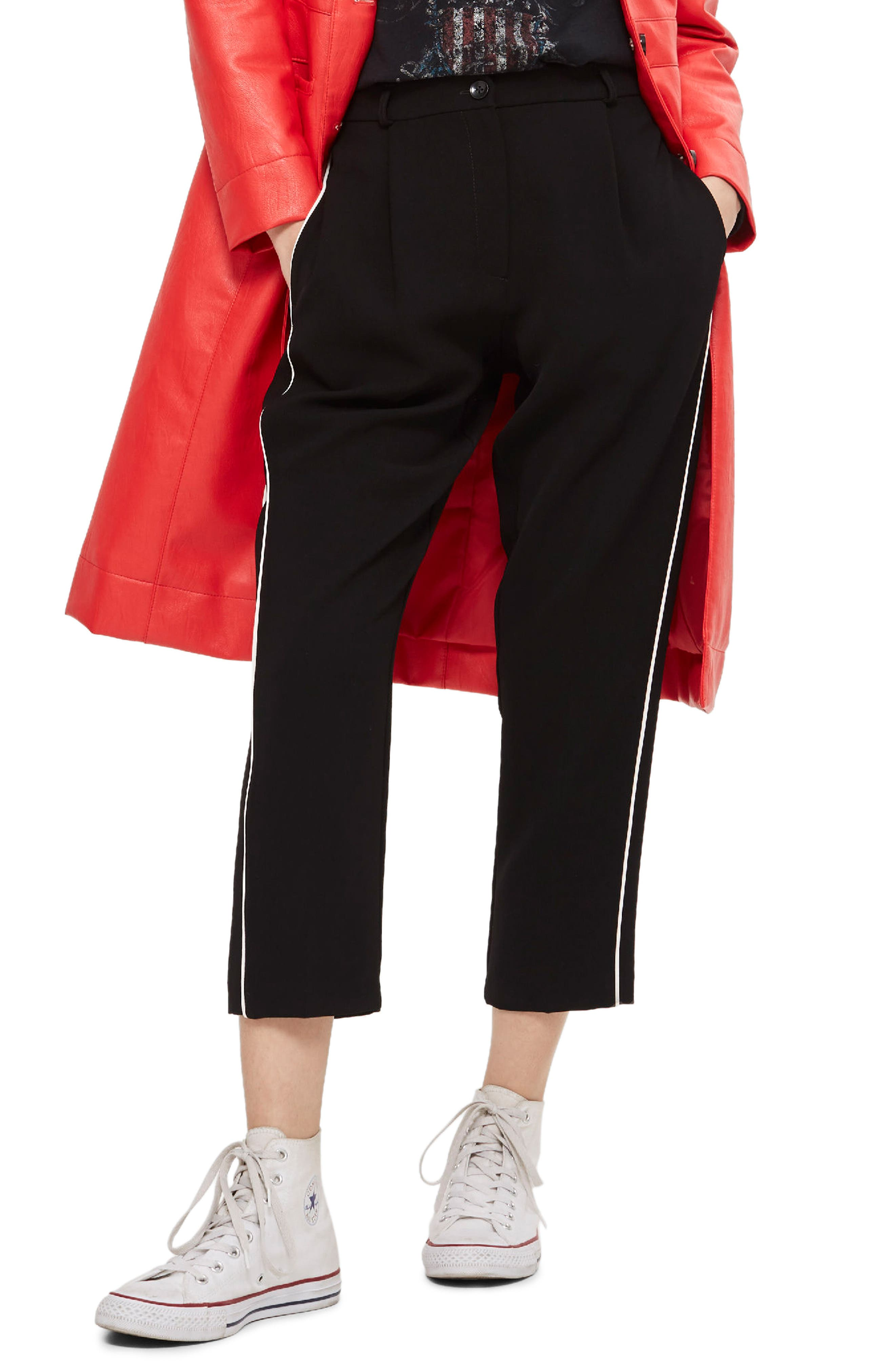 Topshop Side Pipe Joggers