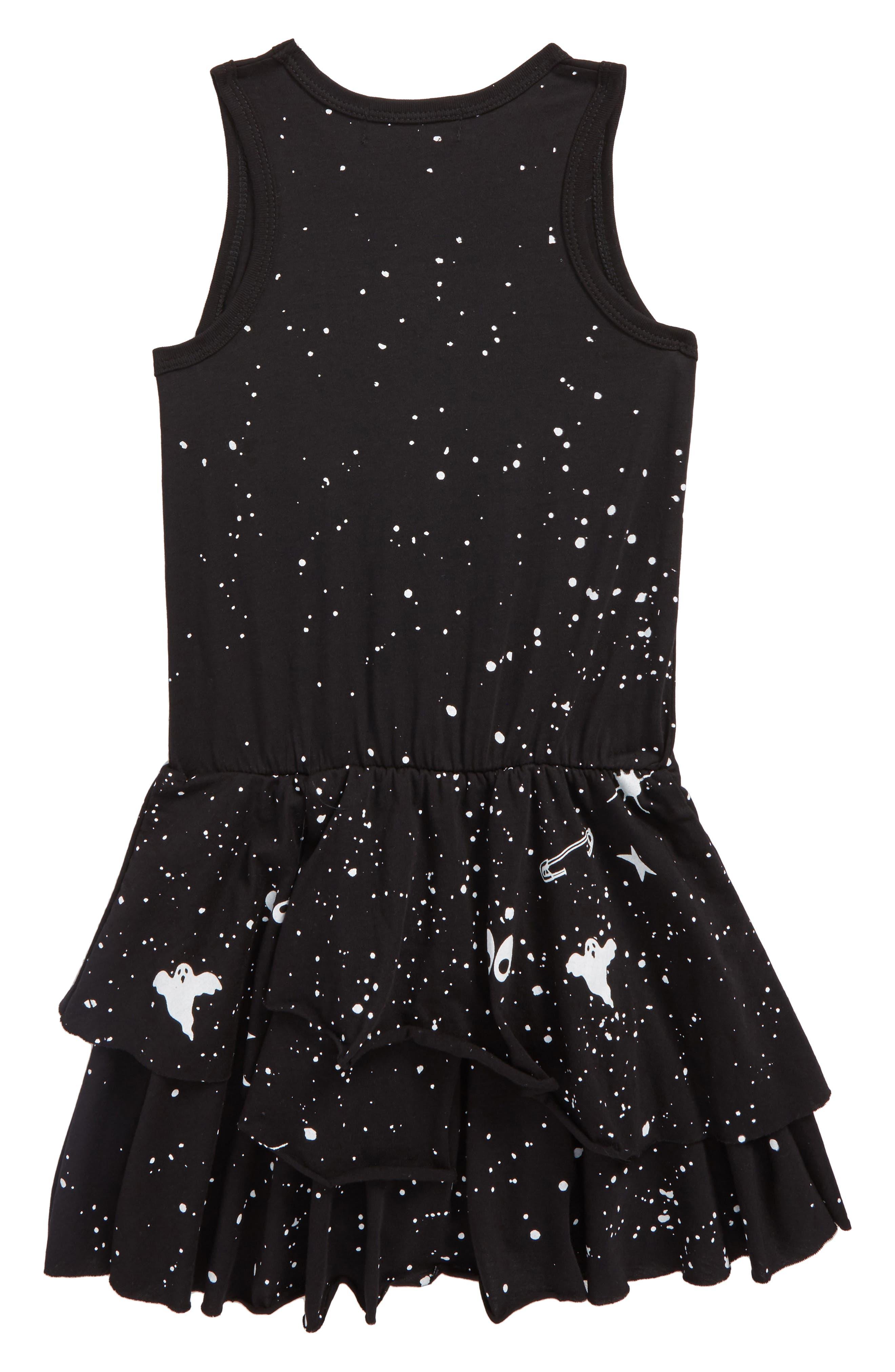 Super Hero Dress,                             Alternate thumbnail 2, color,                             Black Super