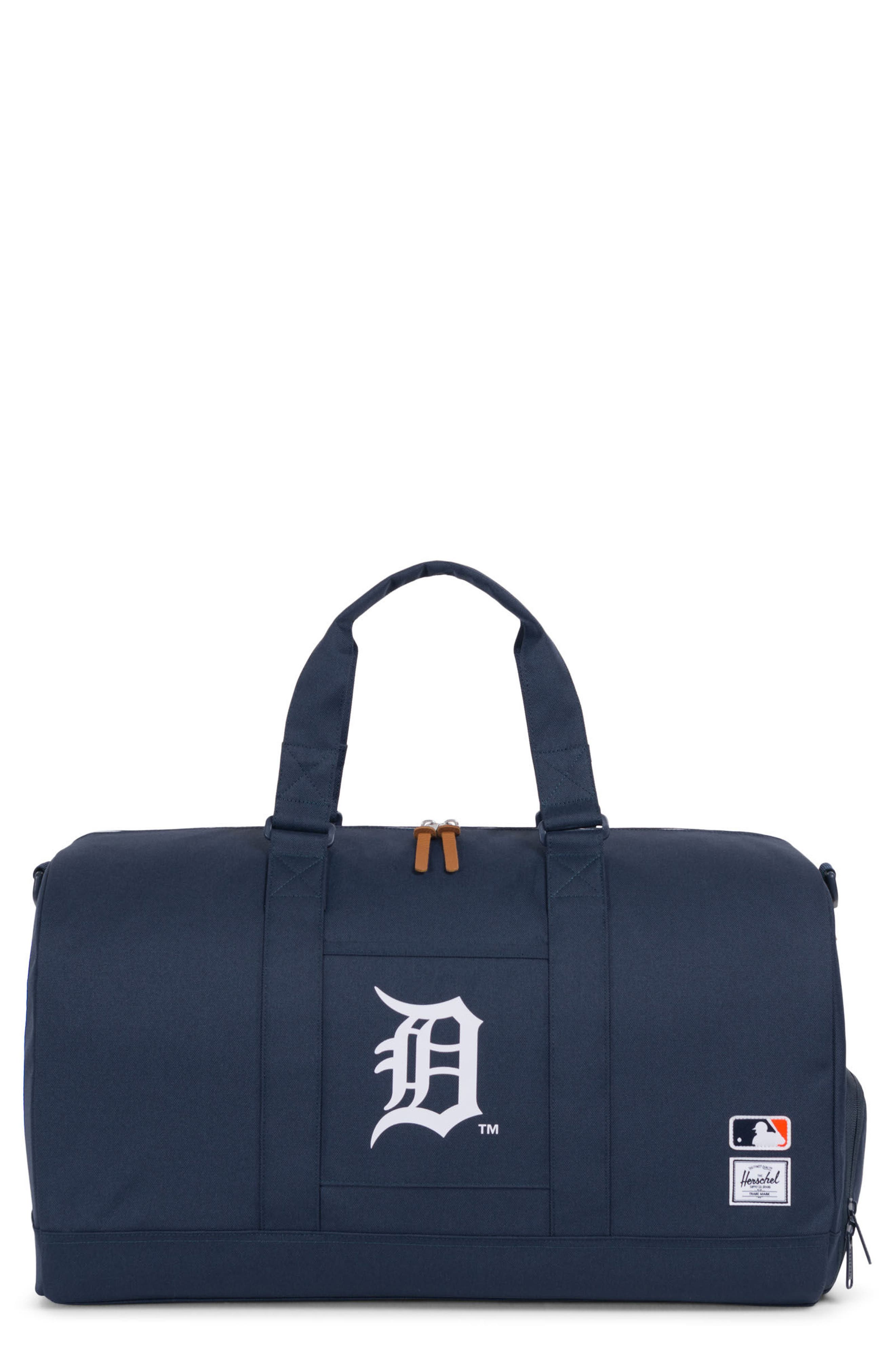 Novel - MLB American League Duffel Bag,                             Main thumbnail 1, color,                             Detroit Tigers