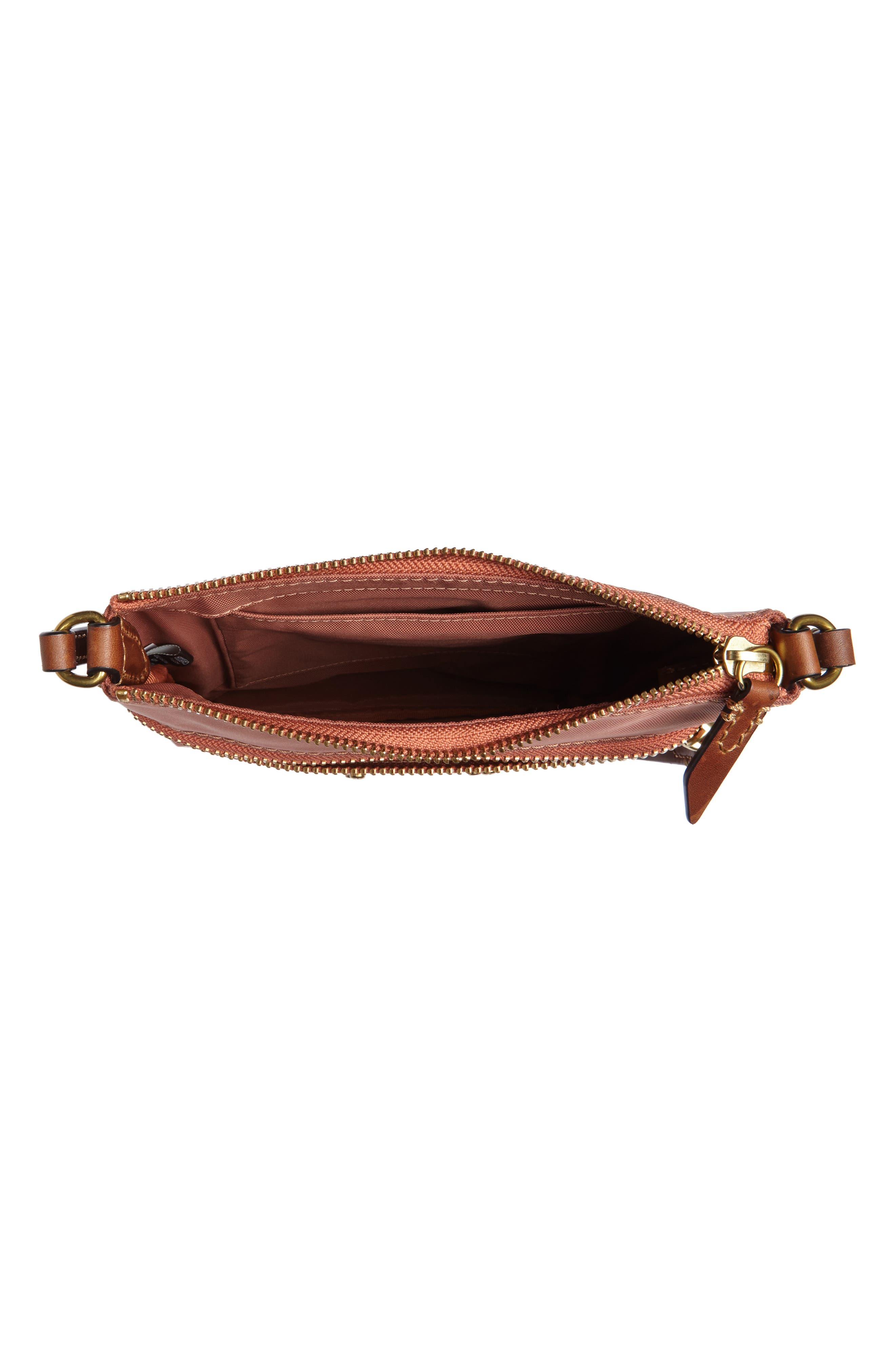Ivy Nylon Cosmetics Bag,                             Alternate thumbnail 3, color,                             Dusty Rose