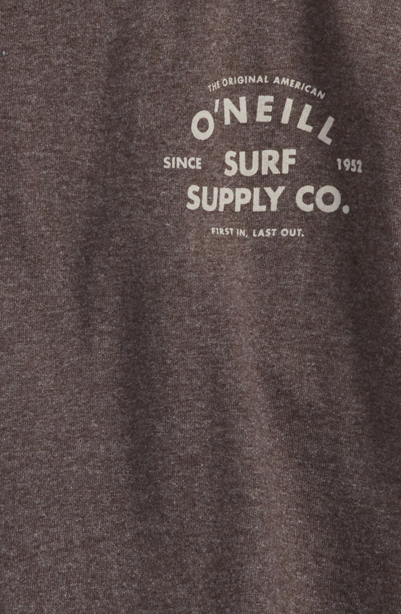 Gonner Graphic T-Shirt,                             Alternate thumbnail 3, color,                             Heather Black
