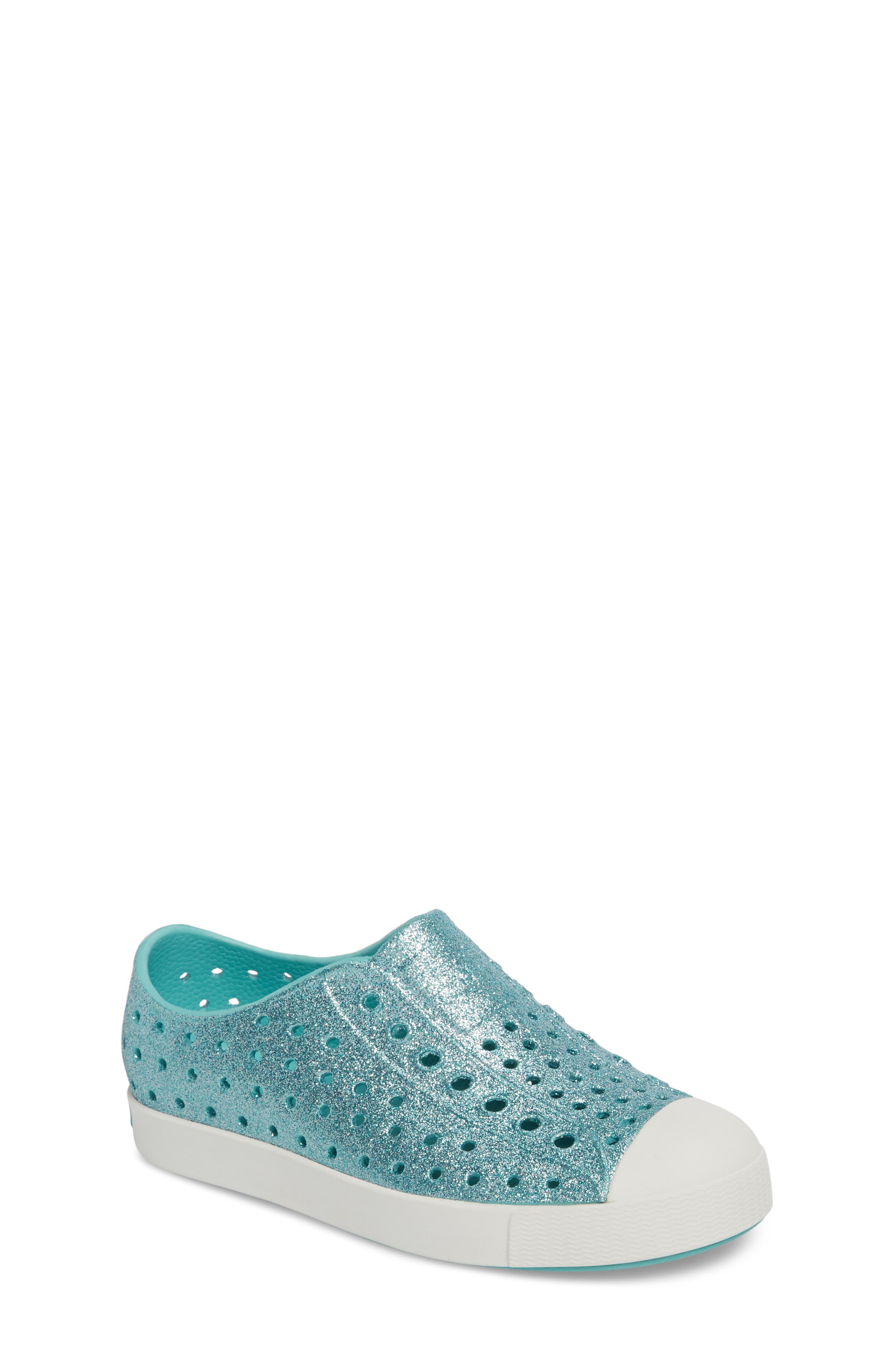 Native Shoes Jefferson - Bling Glitter Slip-On Sneaker (Baby, Walker, Toddler & Little Kid)