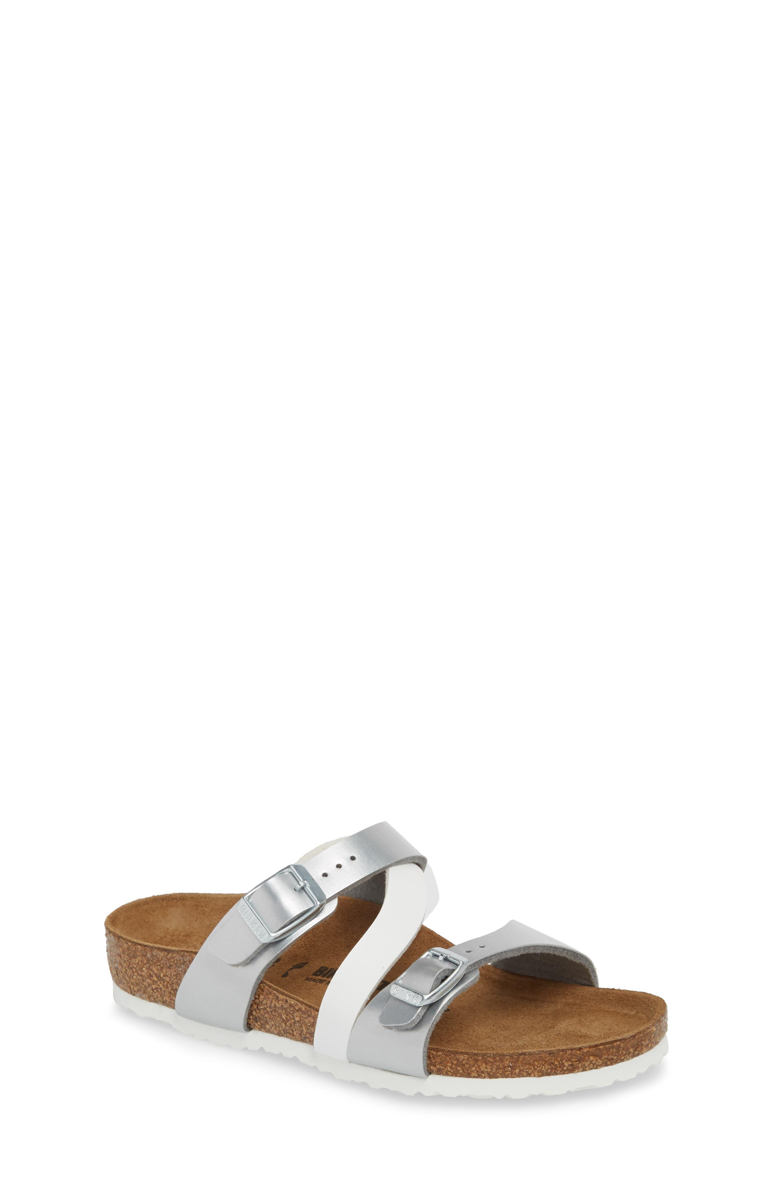Birkenstock Salina Slide Sandal (Toddler & Little Kid)