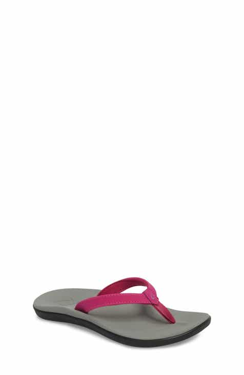 594766601fc OluKai Sandals for Kids Purple