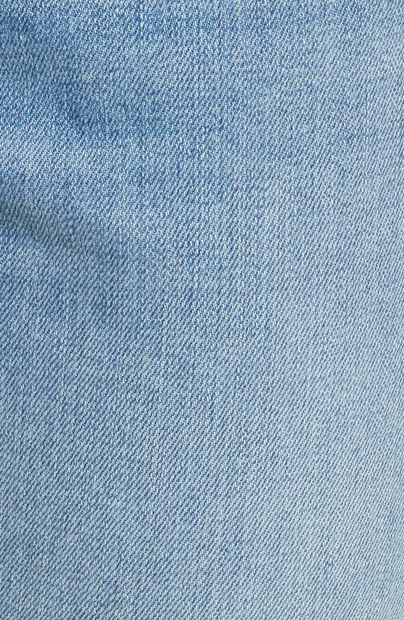 Alternate Image 5  - rag & bone/JEAN The Dre Released Hem Slim Boyfriend Jeans (Rove)