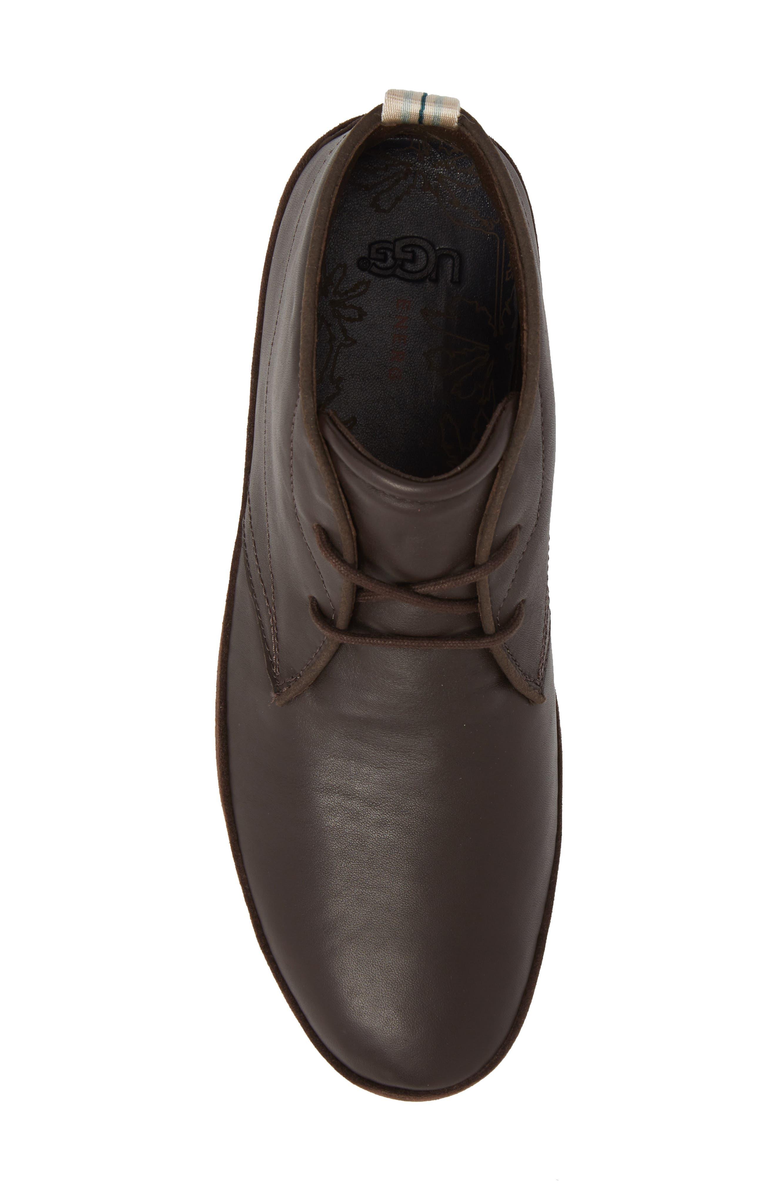 Cali Chukka Boot,                             Alternate thumbnail 5, color,                             Stout Leather