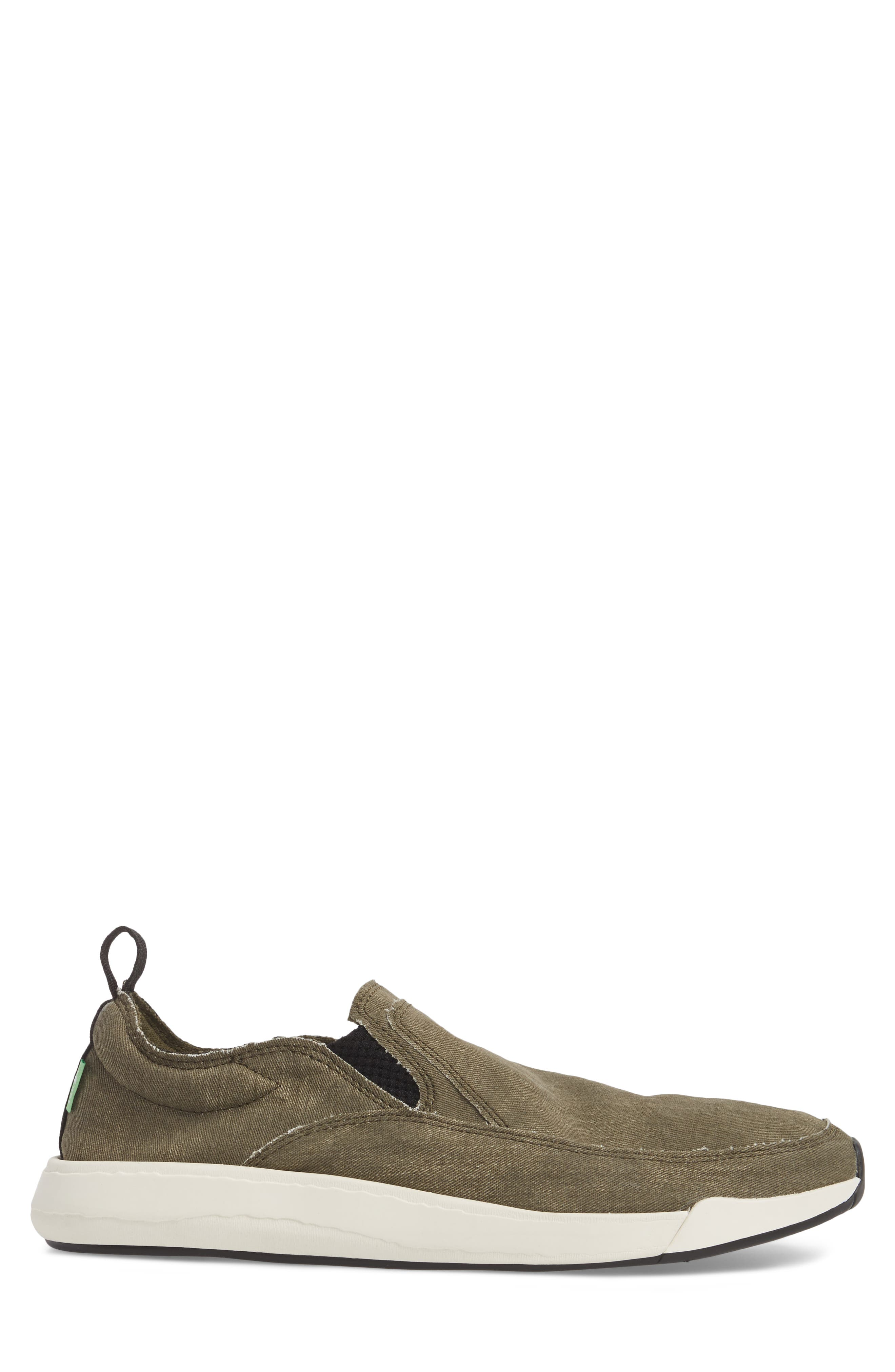 Chiba Quest Slip-On Sneaker,                             Alternate thumbnail 3, color,                             Olive