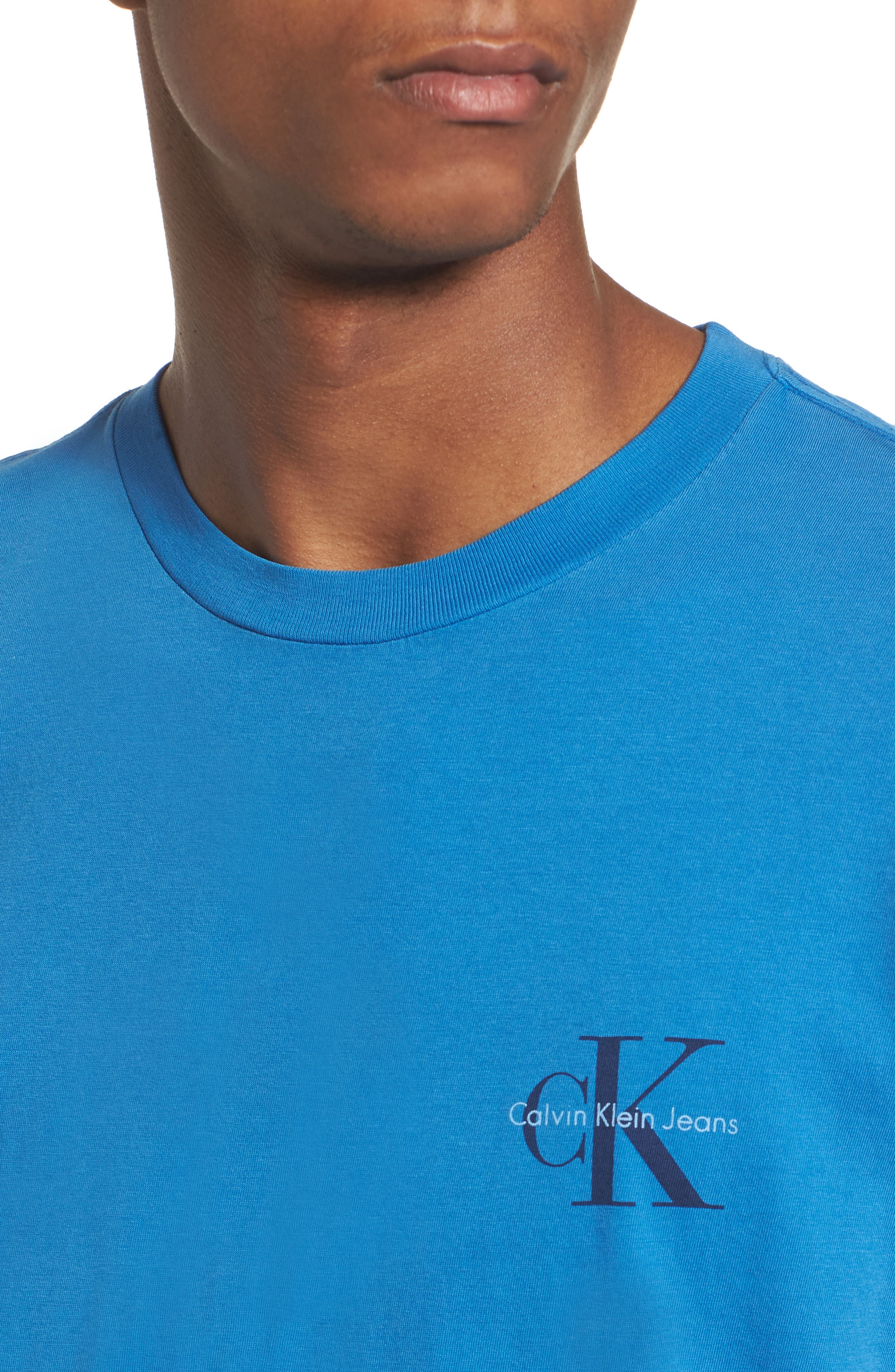 Pop Color T-Shirt,                             Alternate thumbnail 4, color,                             Strong Blue